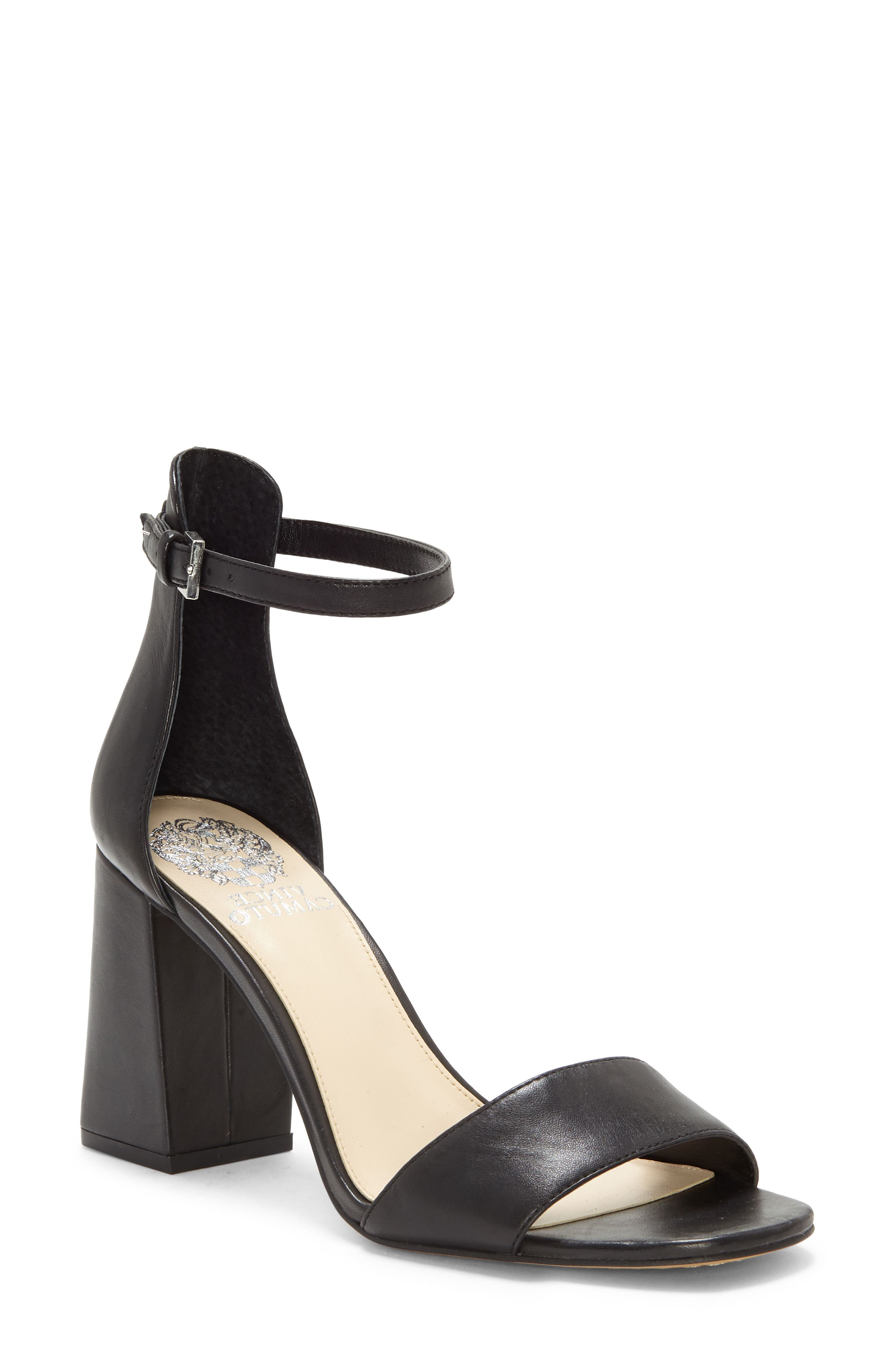 black heel straps