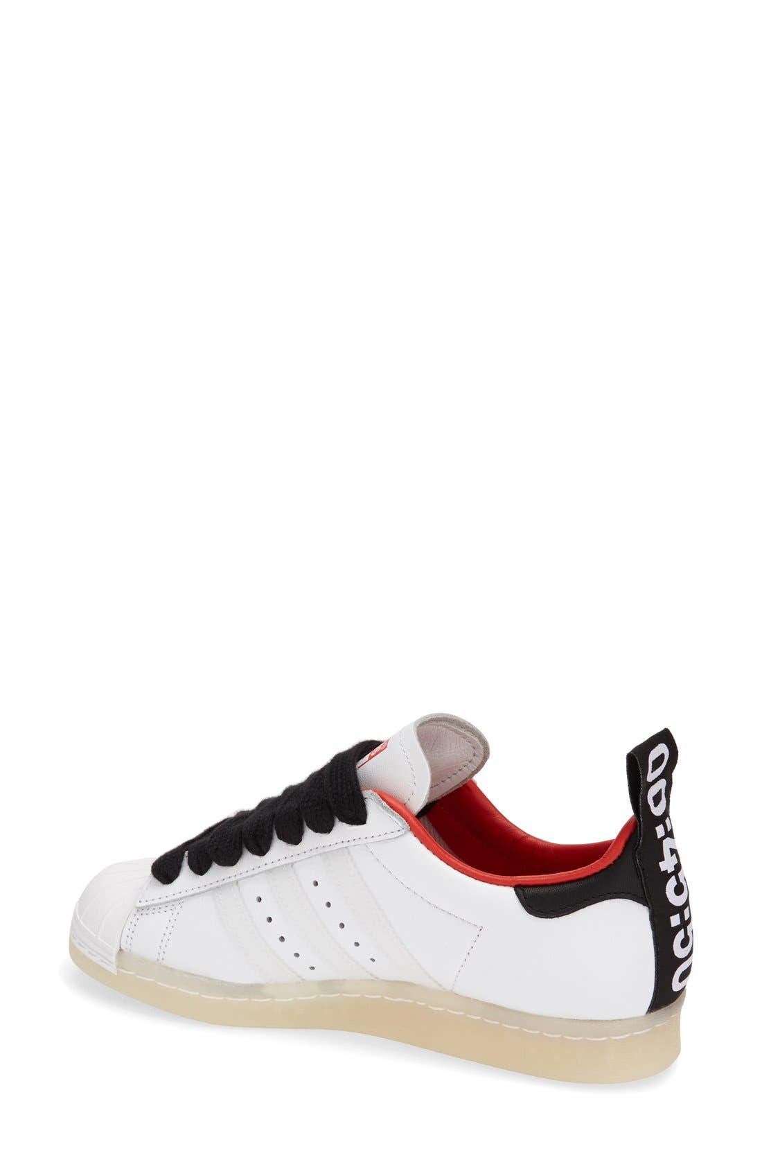 Alternate Image 2  - Topshop for adidas Originals 'Superstar 80s' Leather Sneaker (Women)