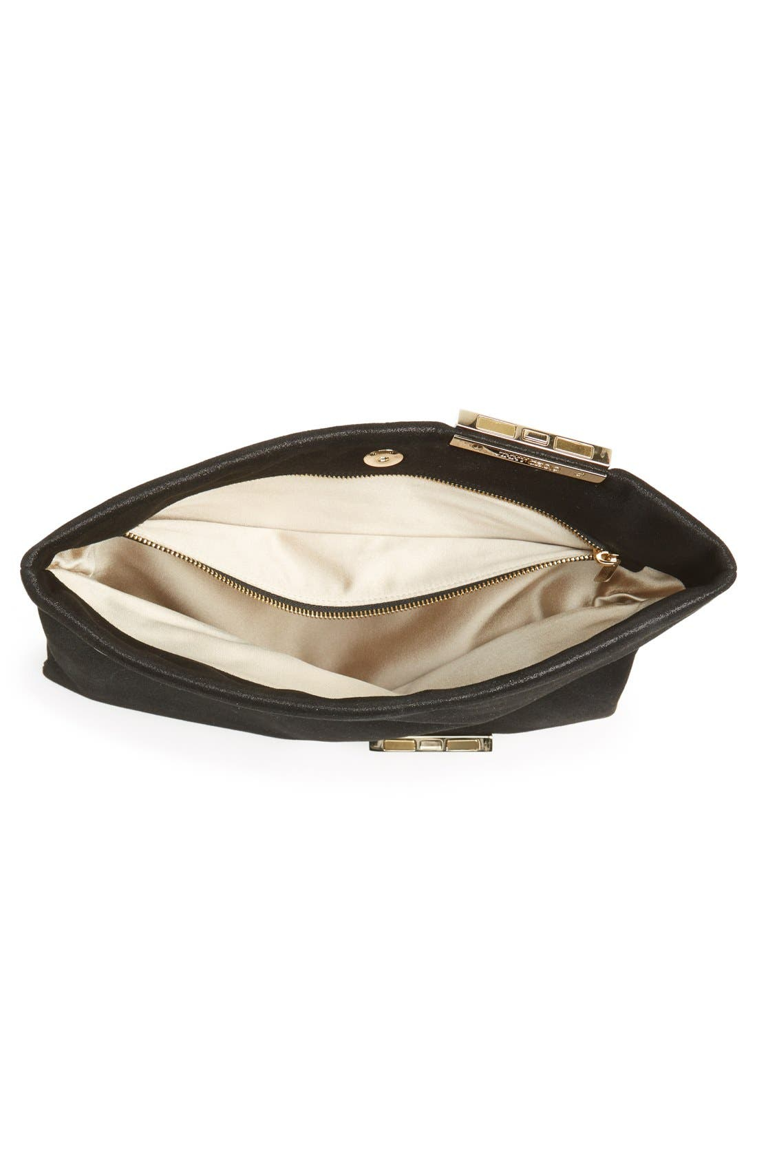 Alternate Image 4  - Jimmy Choo 'Chandra' Leather Clutch