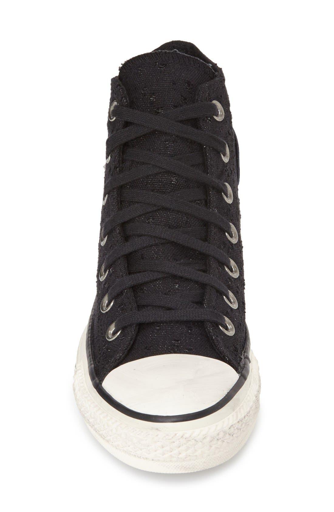 Alternate Image 3  - Converse Chuck Taylor® All Star® 'Star Hardware' High Top Sneaker (Women)