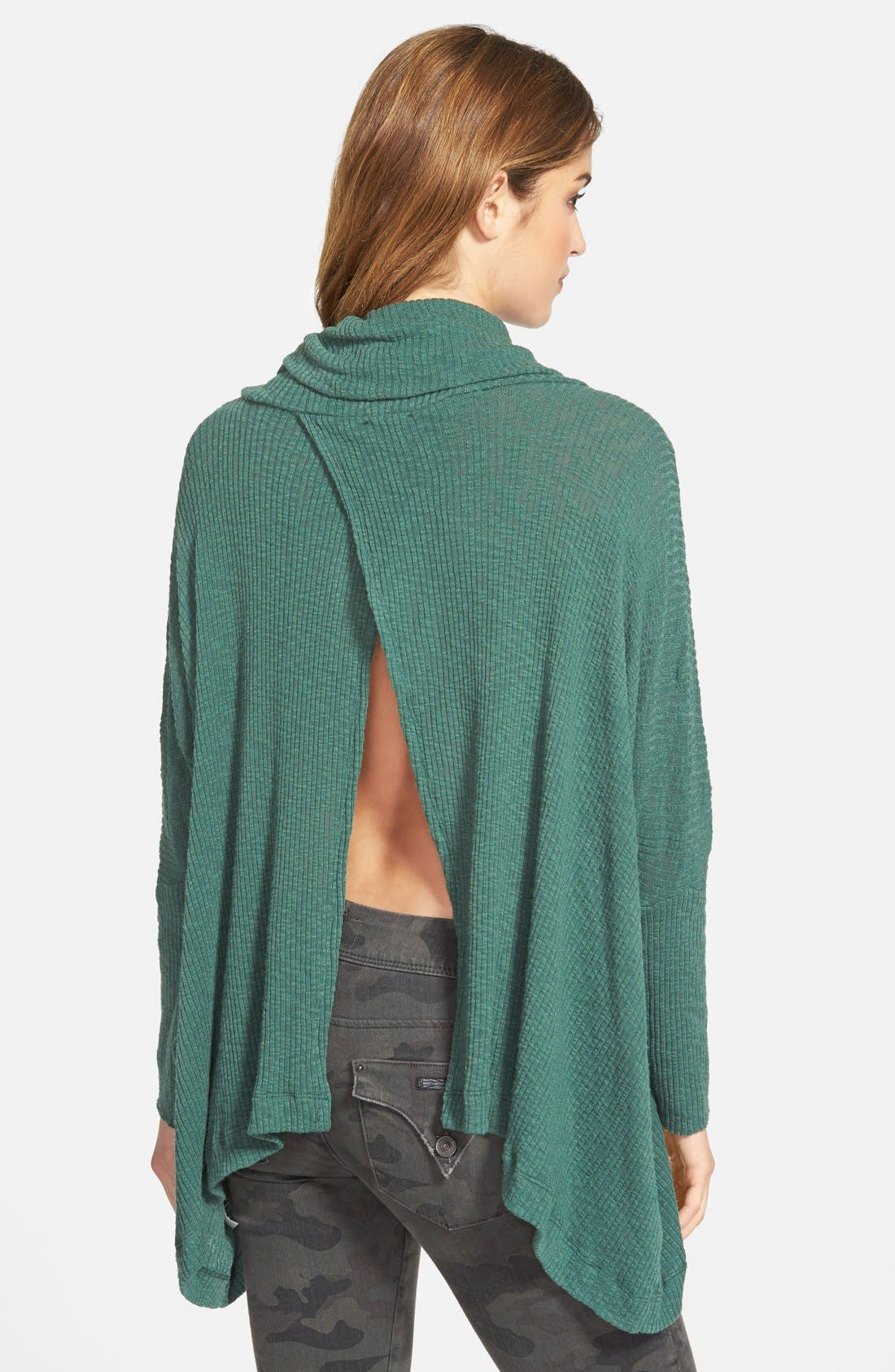 Alternate Image 2  - Free People 'World Traveler' Cowl Neck Pullover
