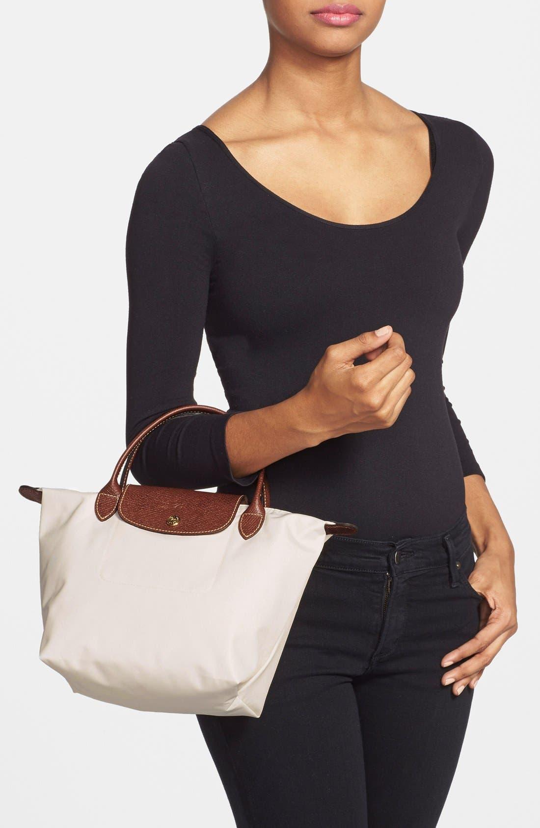 Alternate Image 2  - Longchamp 'Mini Le Pliage' Handbag