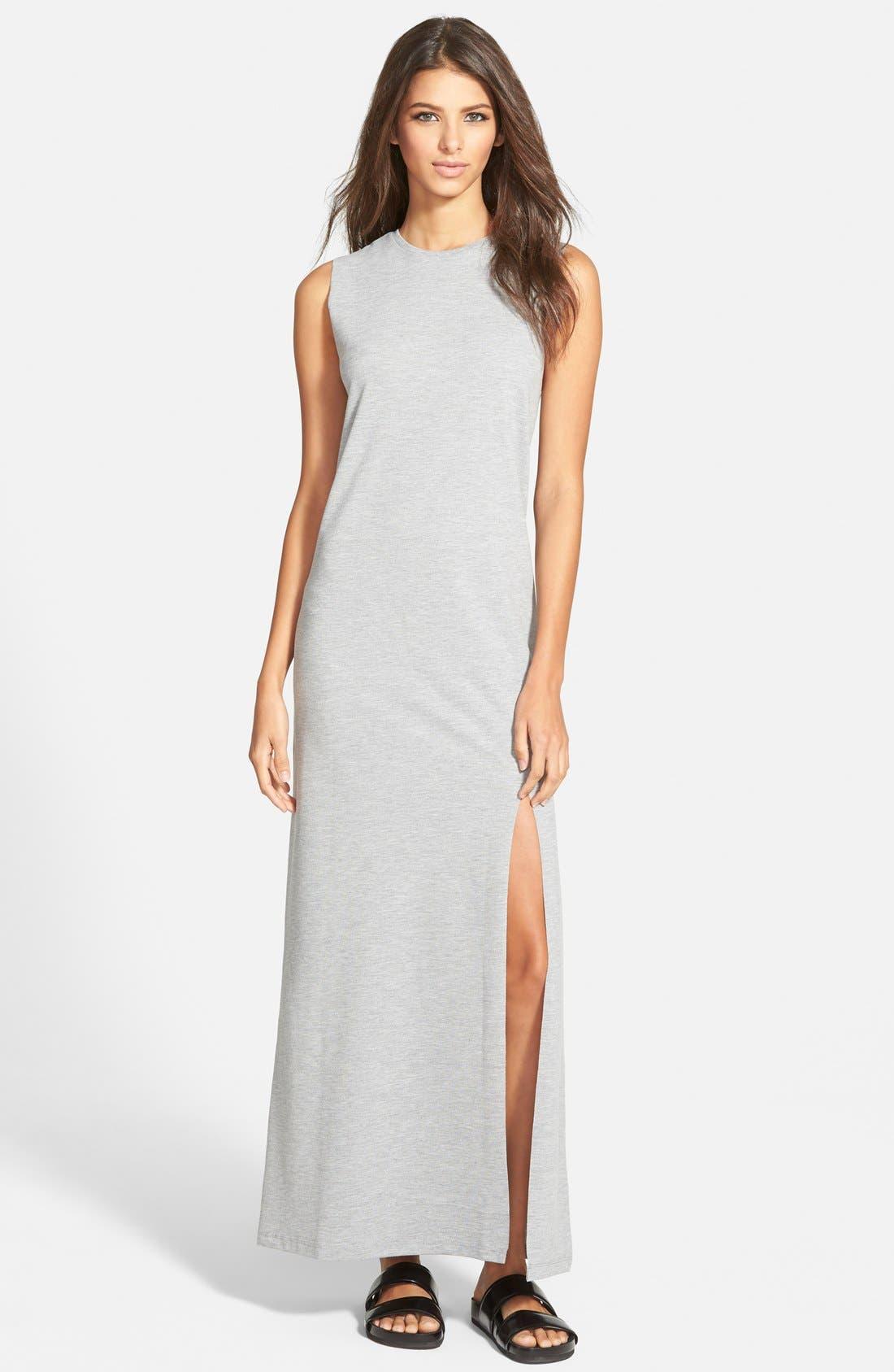 Alternate Image 1 Selected - Native Youth Sleeveless Side Slit Maxi Dress