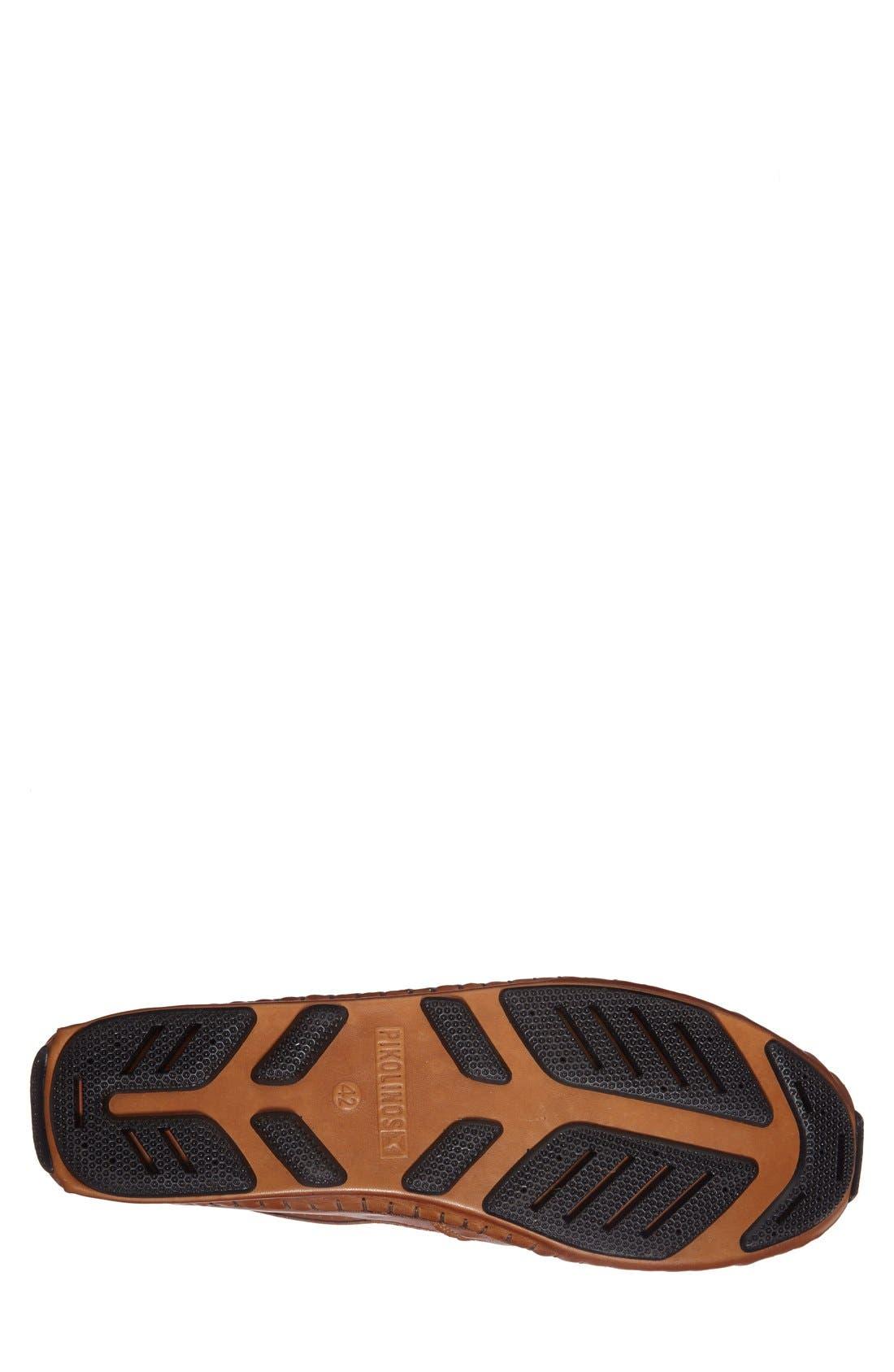 'Jerez' Driving Shoe,                             Alternate thumbnail 4, color,                             Brandy