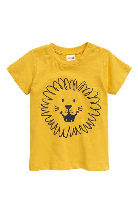 seed heritage Lion Graphic T-Shirt (Baby)