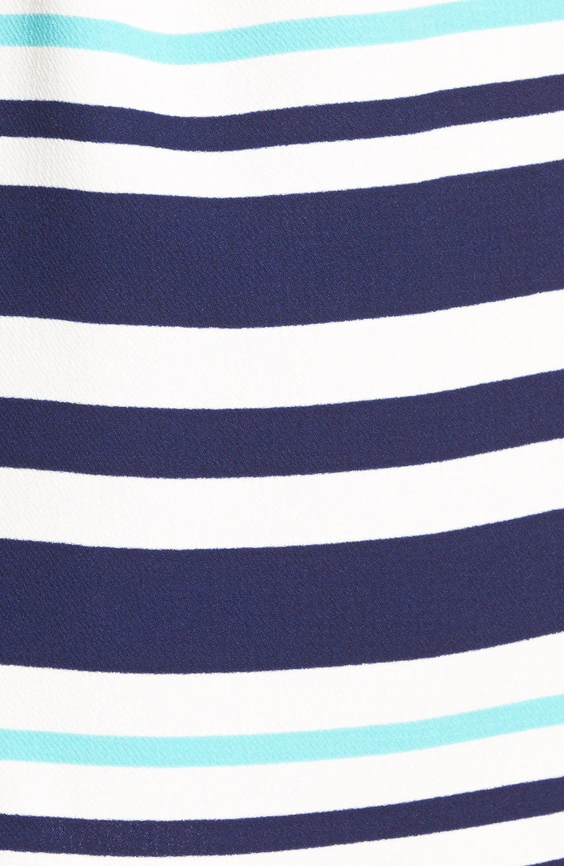 Alternate Image 4  - Everly Stripe Skater Dress