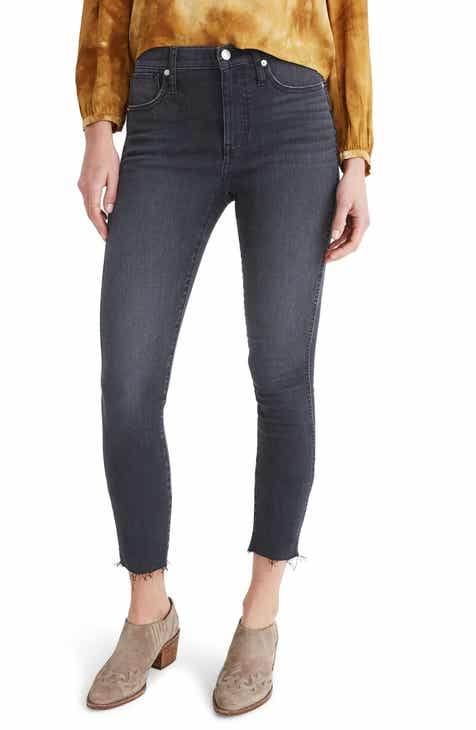 Madewell 10-Inch High Waist Crop Skinny Jeans (Hartland)