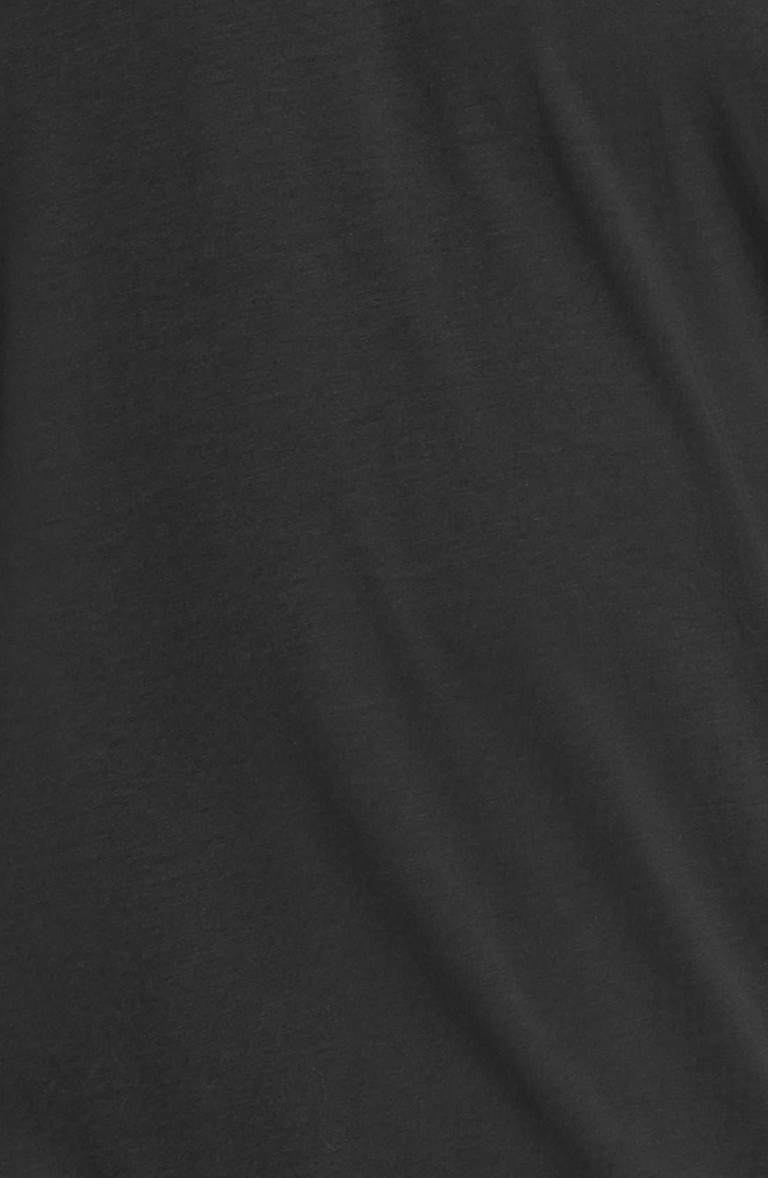 Alternate Image 3  - Lacoste Pima Cotton Jersey V-Neck T-Shirt