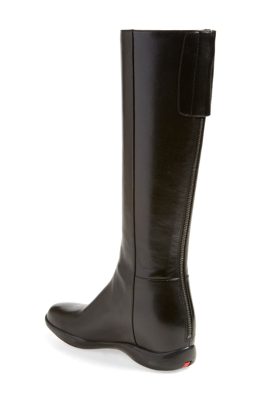 Alternate Image 4  - Prada Leather Tall Boot