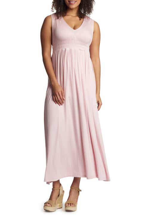 Everly Grey Valeria Maternity/Nursing Maxi Dress