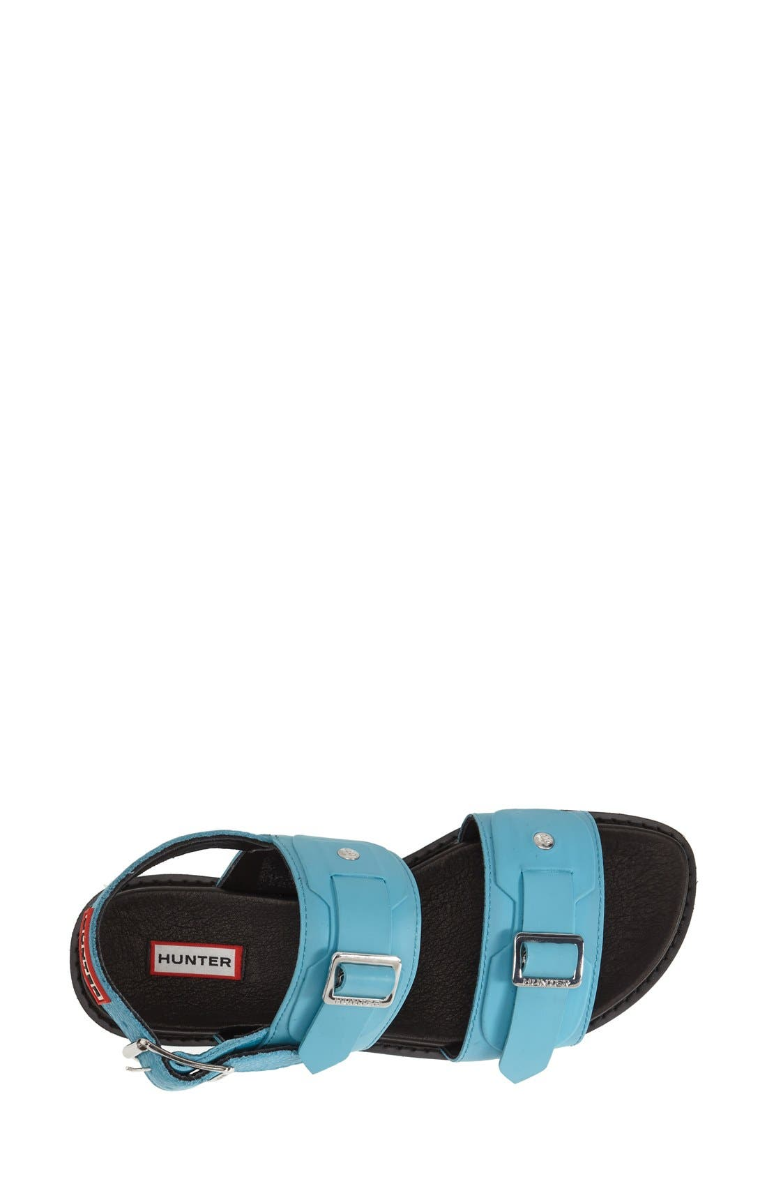 Alternate Image 3  - Hunter Double Buckle Mid Flatform Sandal (Women)
