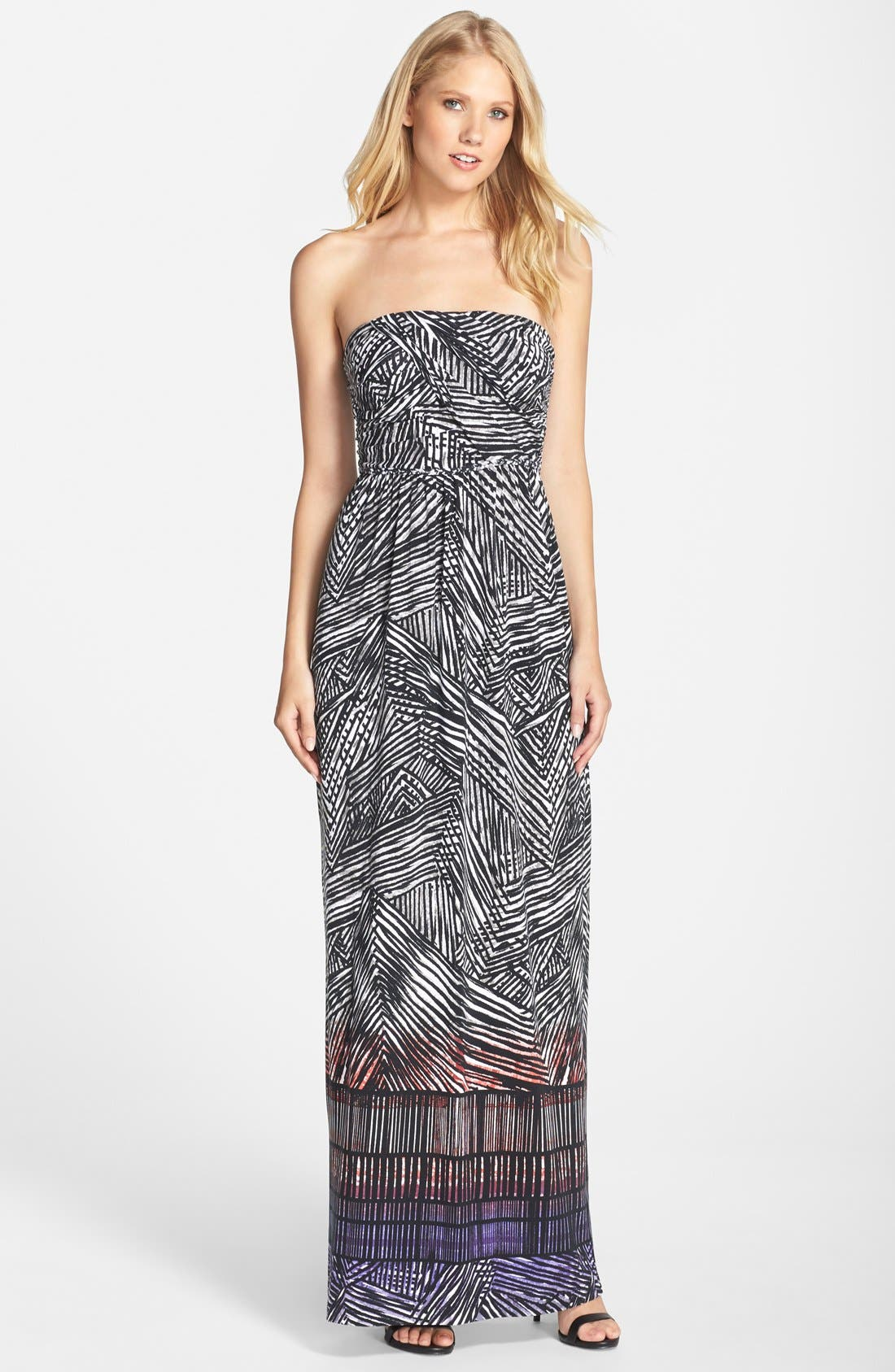 Main Image - Tart 'Delancy' Print Jersey Maxi Dress
