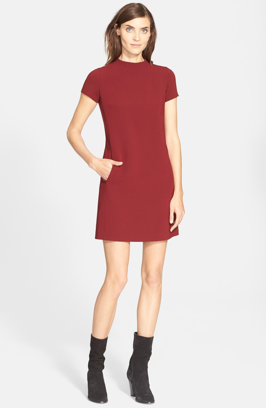 Alternate Image 1 Selected - Theory 'Jasneah' Crepe Shift Dress