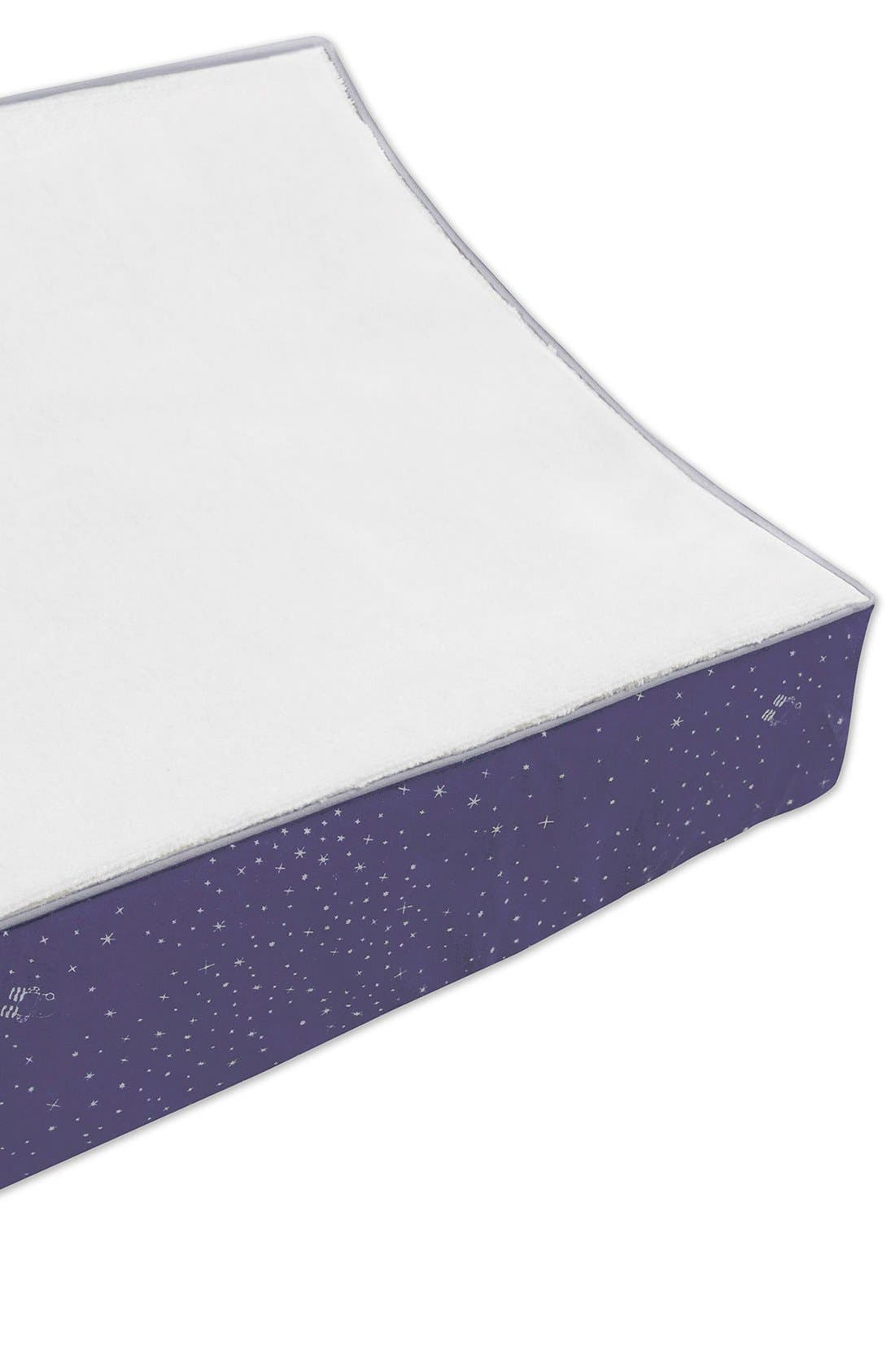 Alternate Image 7  - babyletto 'Galaxy' Crib Sheet, Crib Skirt, Changing Pad Cover, Play Blanket & Wall Decals