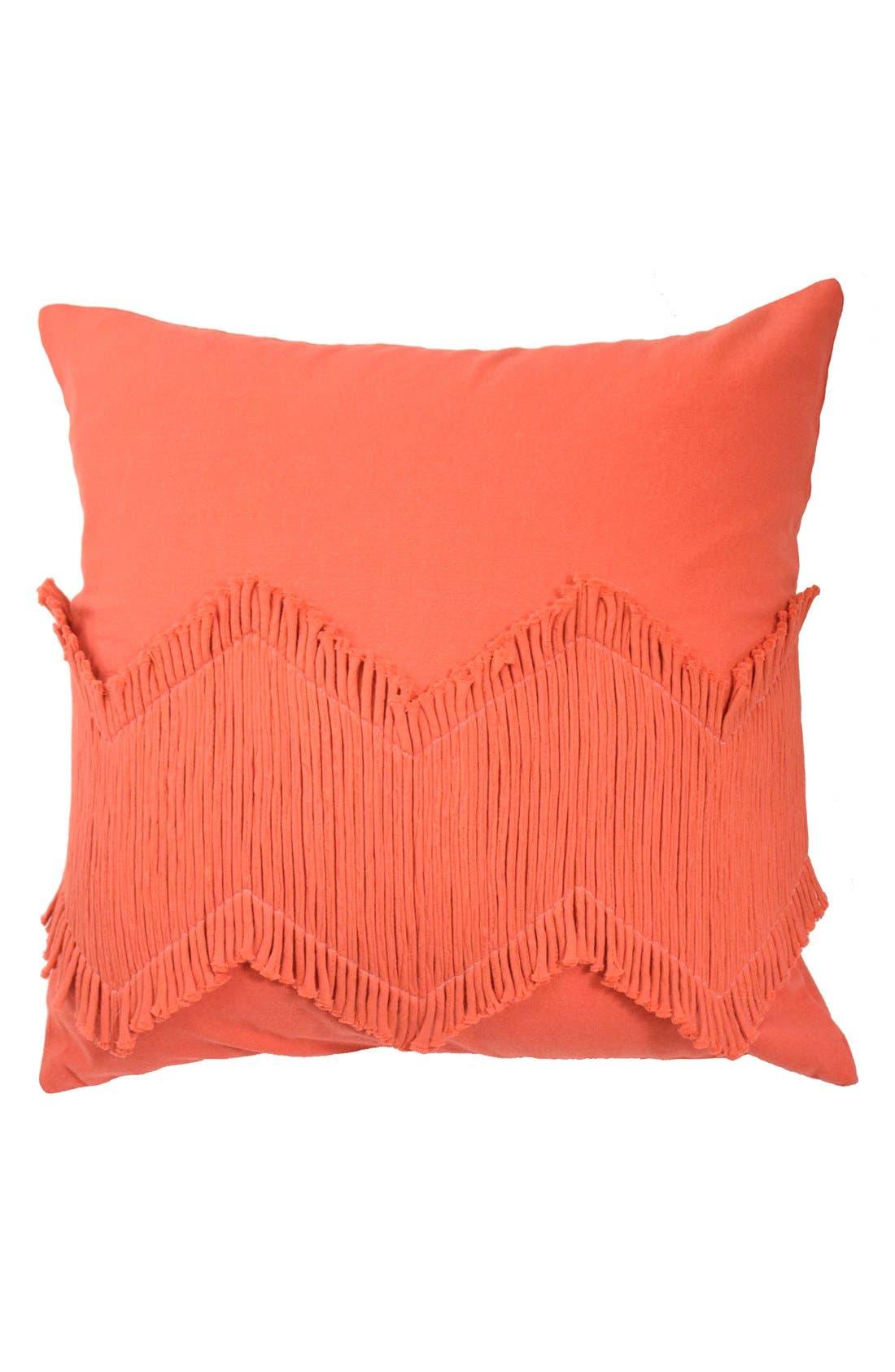 'Puebla' Pillow,                         Main,                         color, Orange