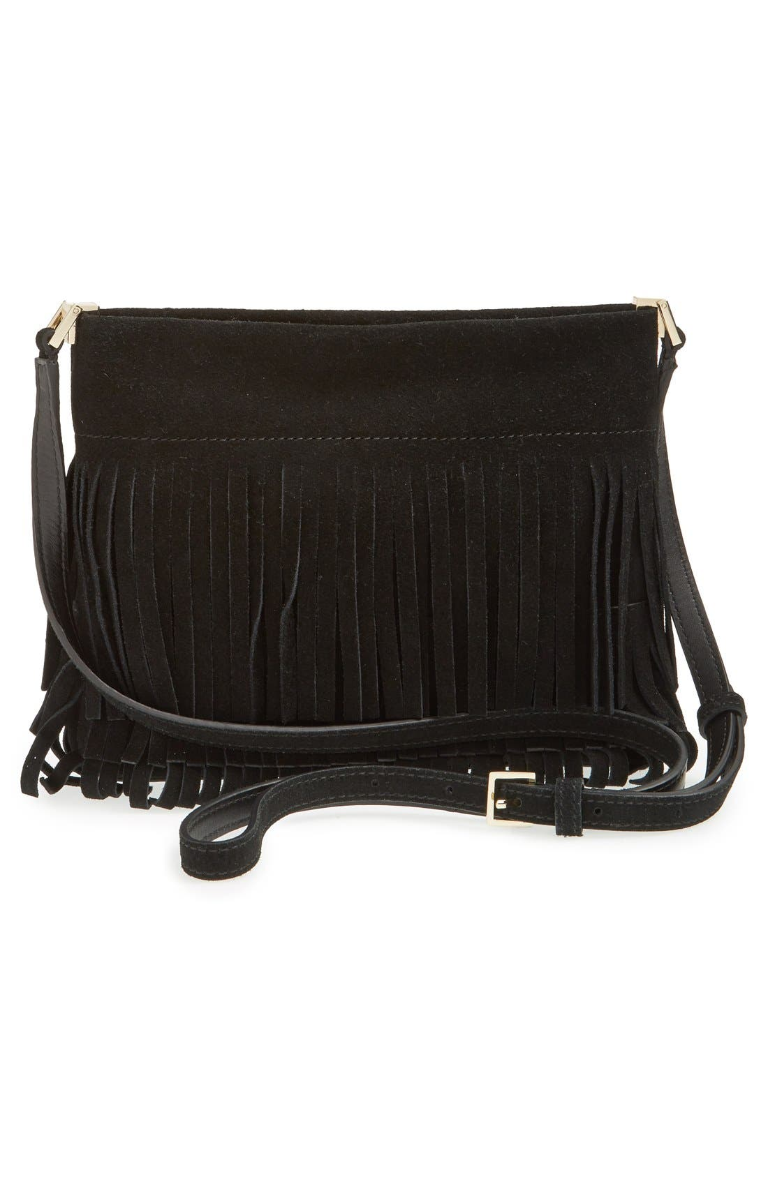 Alternate Image 3  - kate spade new york 'sycamore run - cristi' suede fringe crossbody bag