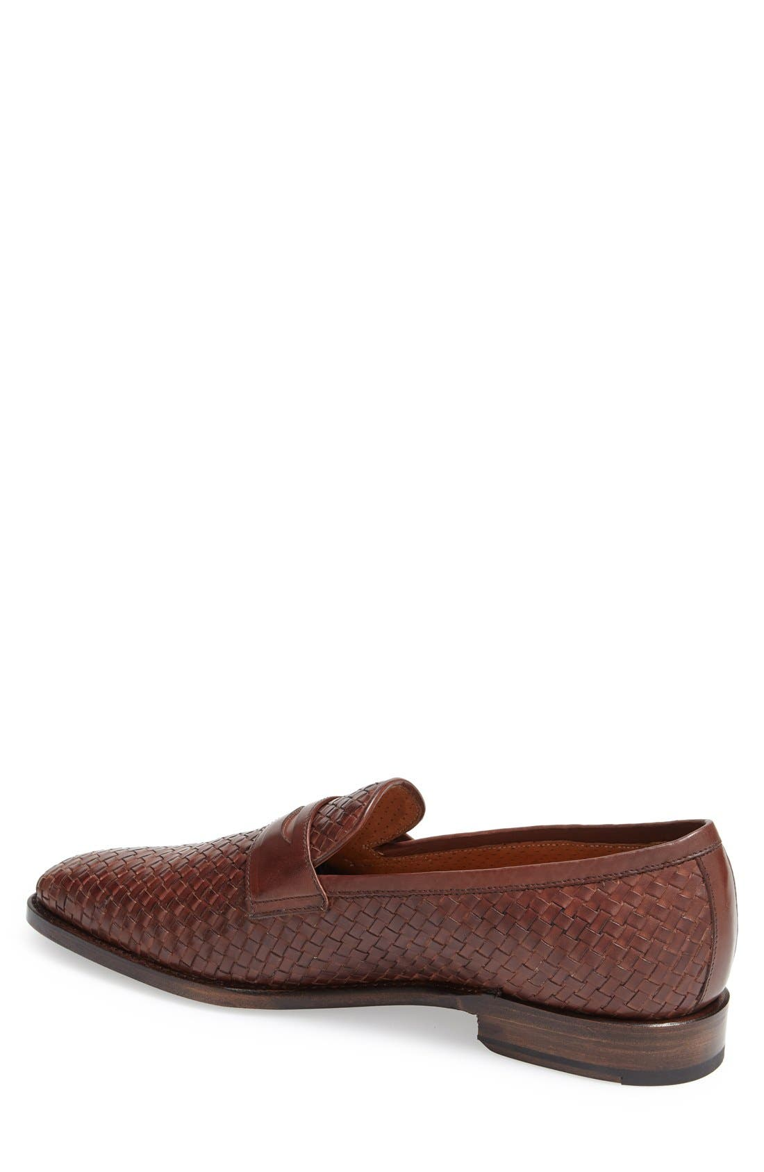 Boots 'Saratoga' Penny Loafer,                             Alternate thumbnail 2, color,                             Brown