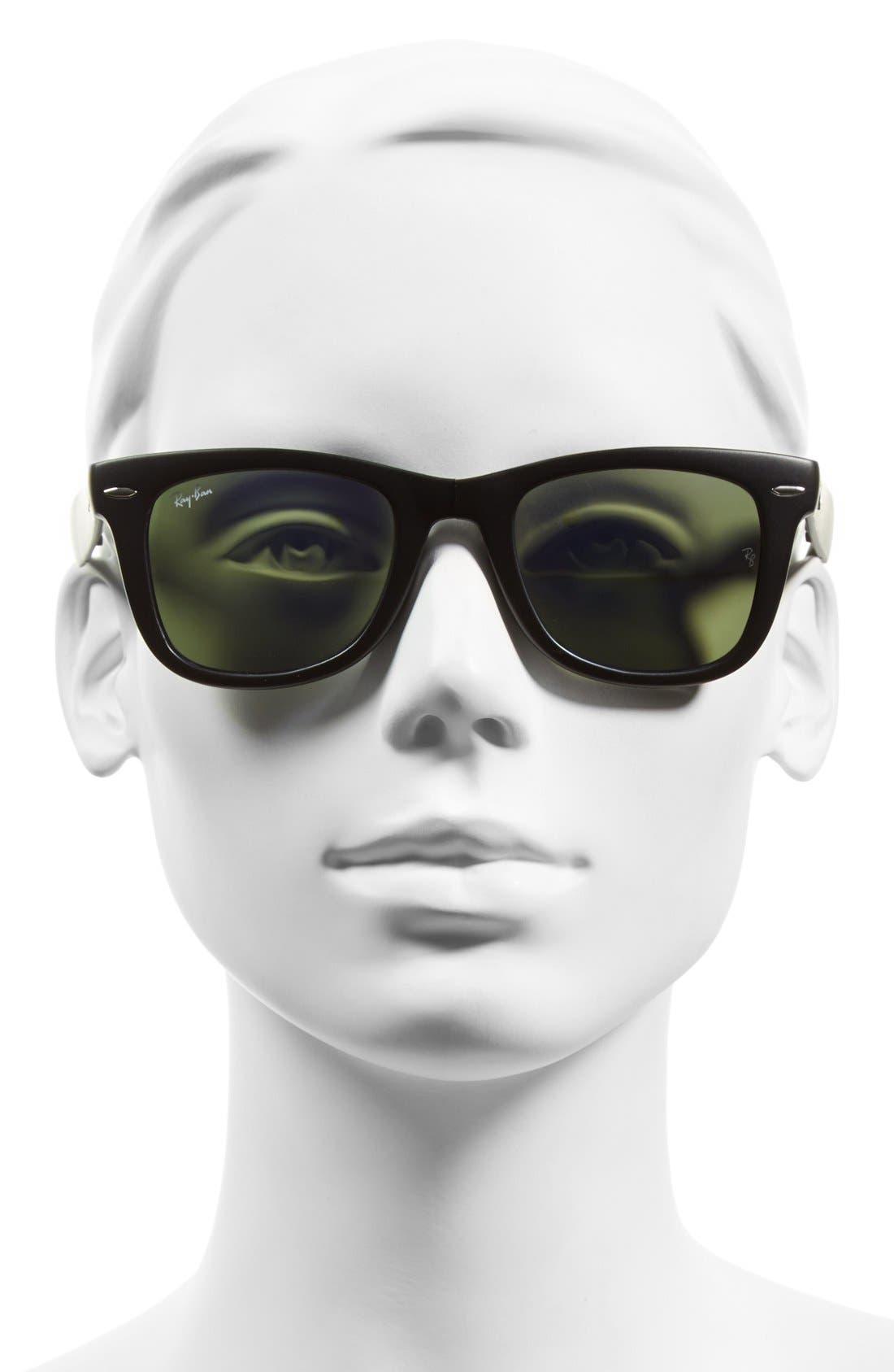 Alternate Image 2  - Ray-Ban 'Folding Wayfarer' 50mm Sunglasses (Nordstrom Exclusive)