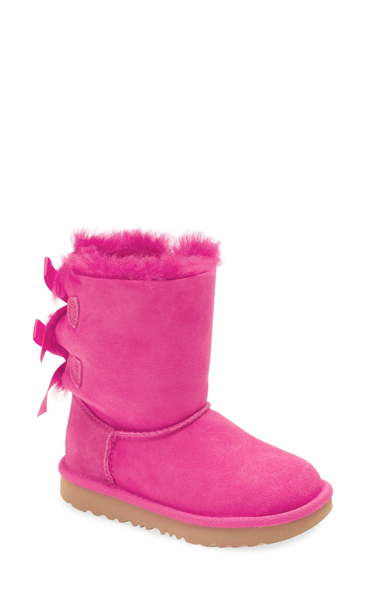 Blue Berry Toddler Winter Faux Fur Boots