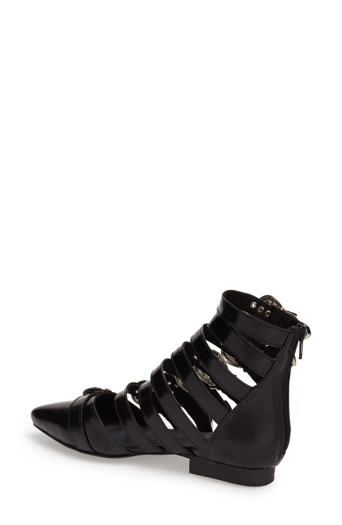 Alternate Image 2  - Jeffrey Campbell 'Psyche' Western Buckle Bootie (Women)