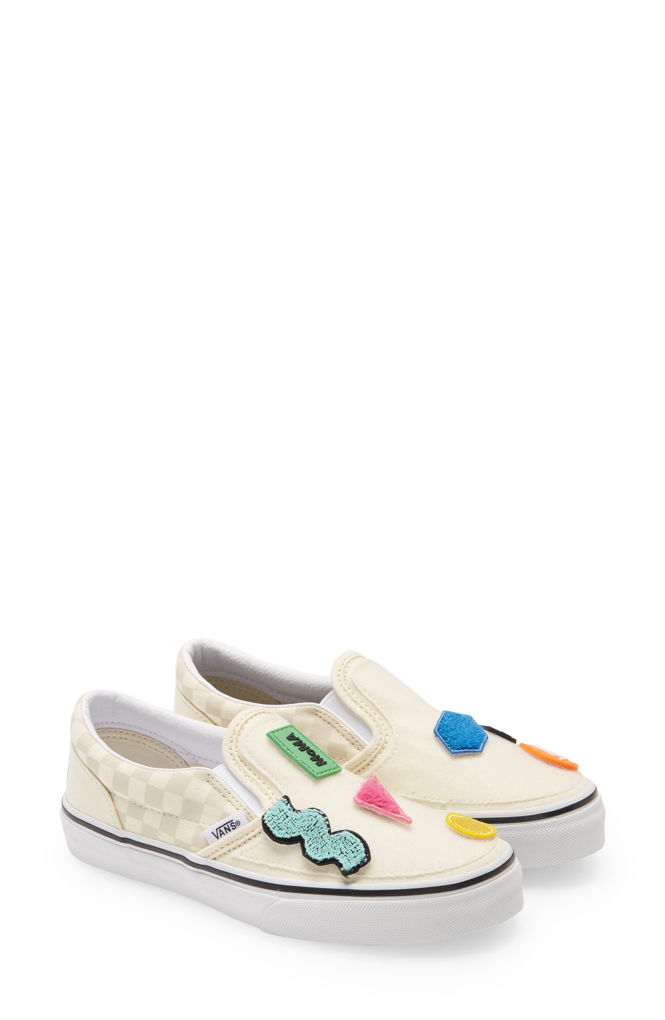 big kids slip on shoes