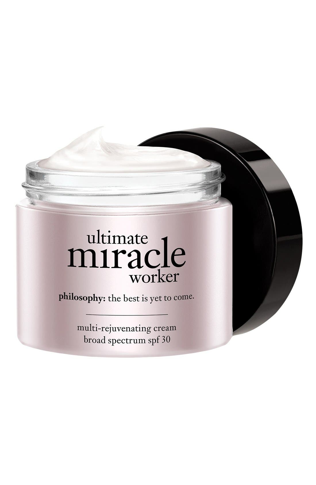 philosophy ultimate miracle worker multi-rejuvenating cream broad spectrum SPF 30