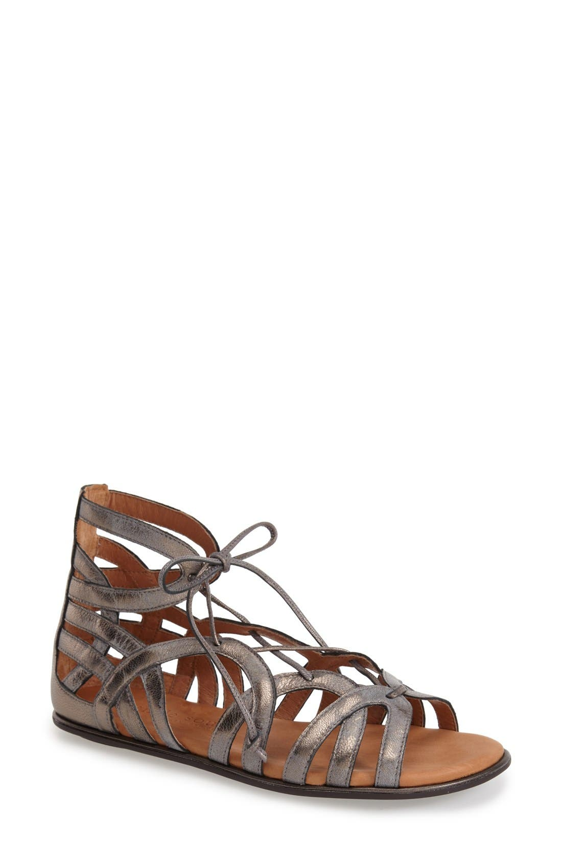 Gentle Souls 'Break My Heart 3' Cage Sandal (Women)