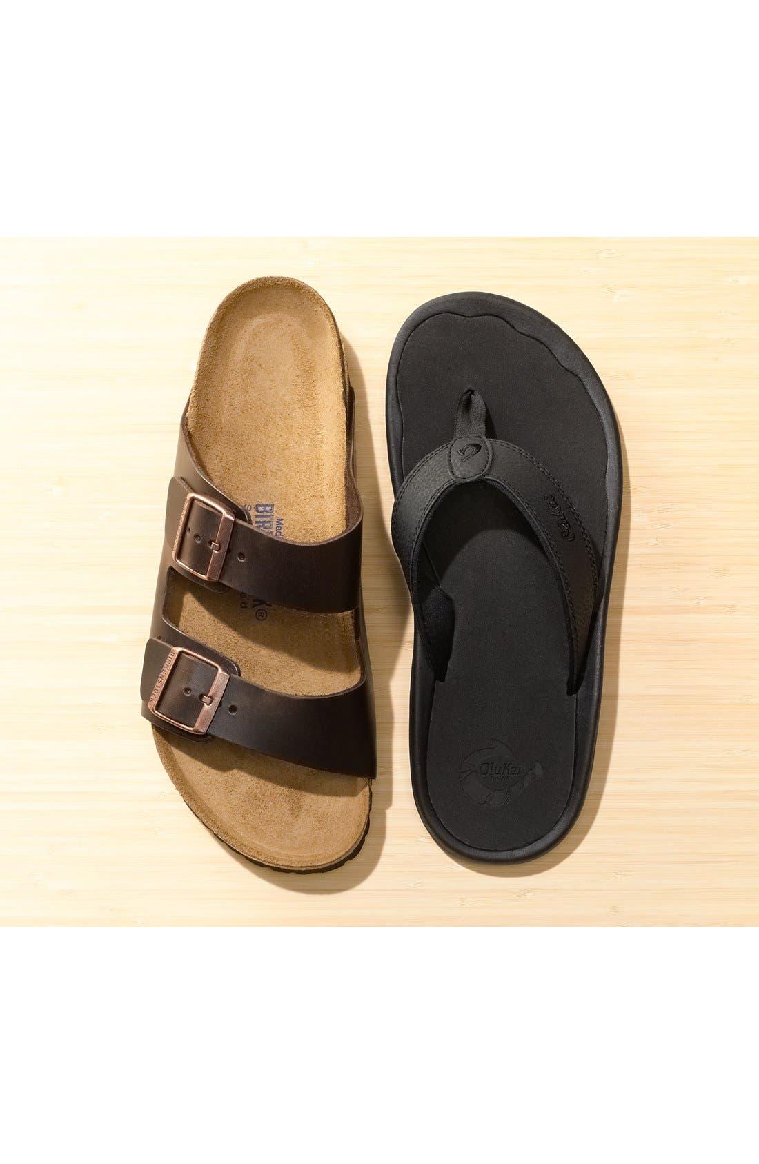 Alternate Image 8  - Birkenstock 'Arizona Soft' Sandal   (Men)