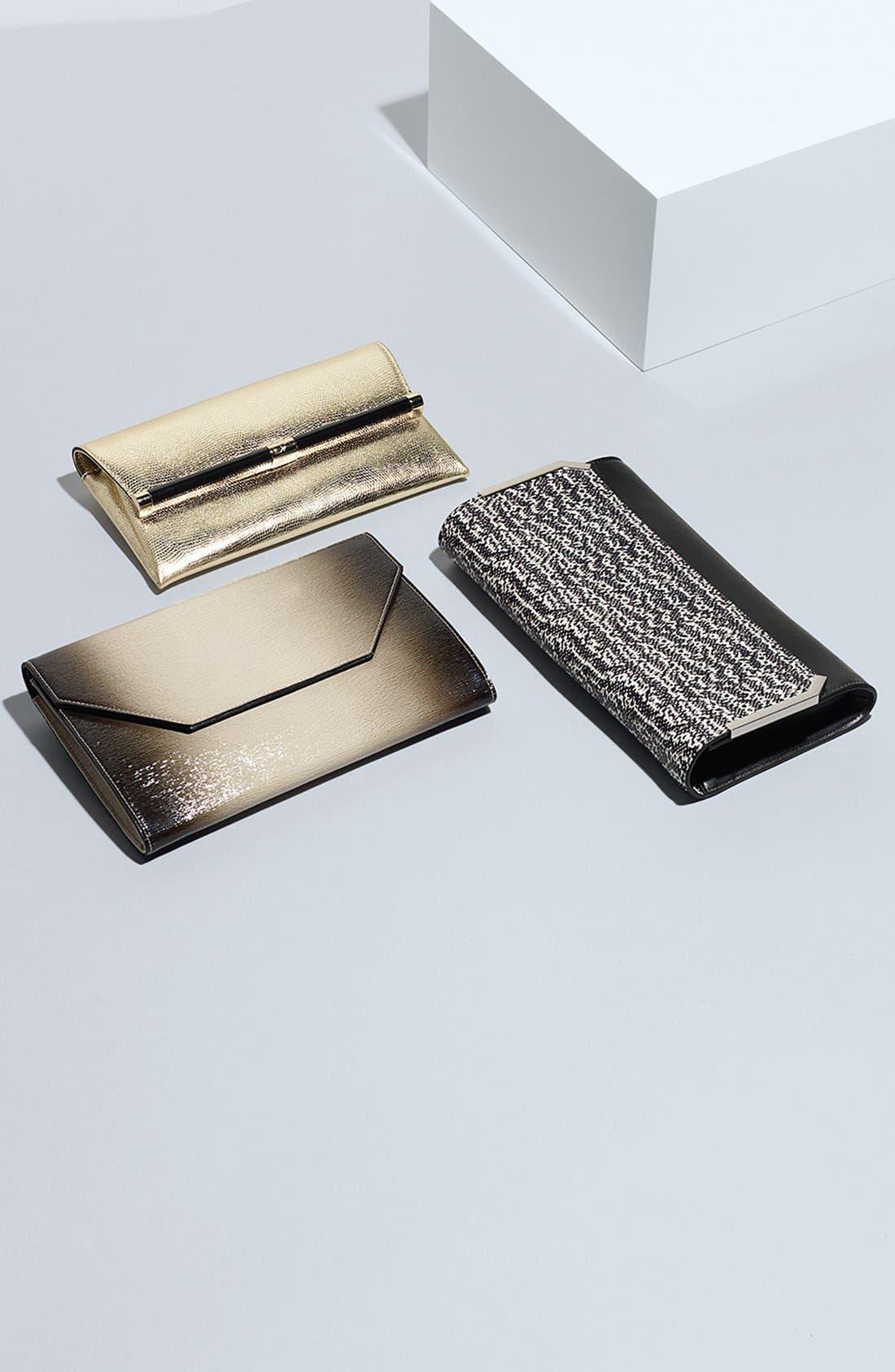 Alternate Image 11  - Halogen® Ombré Leather Envelope Clutch