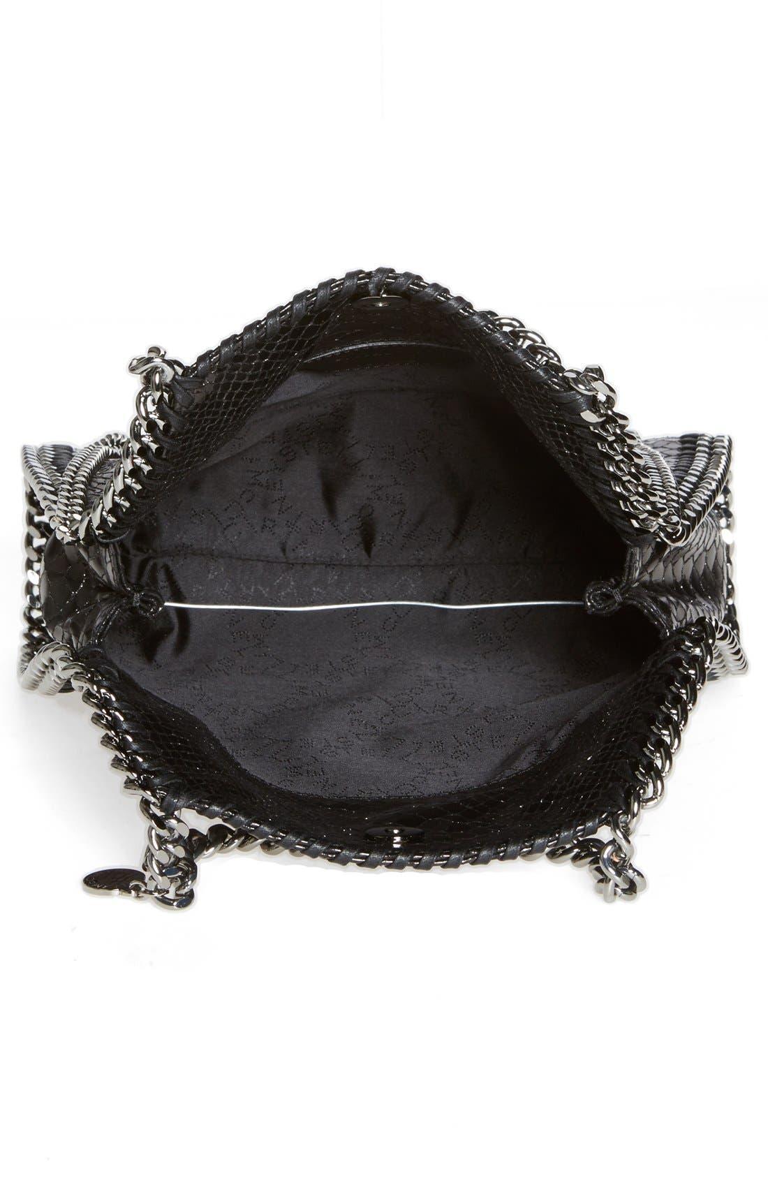Alternate Image 3  - Stella McCartney 'Mini Falabella' Snake Embossed Faux Leather Tote