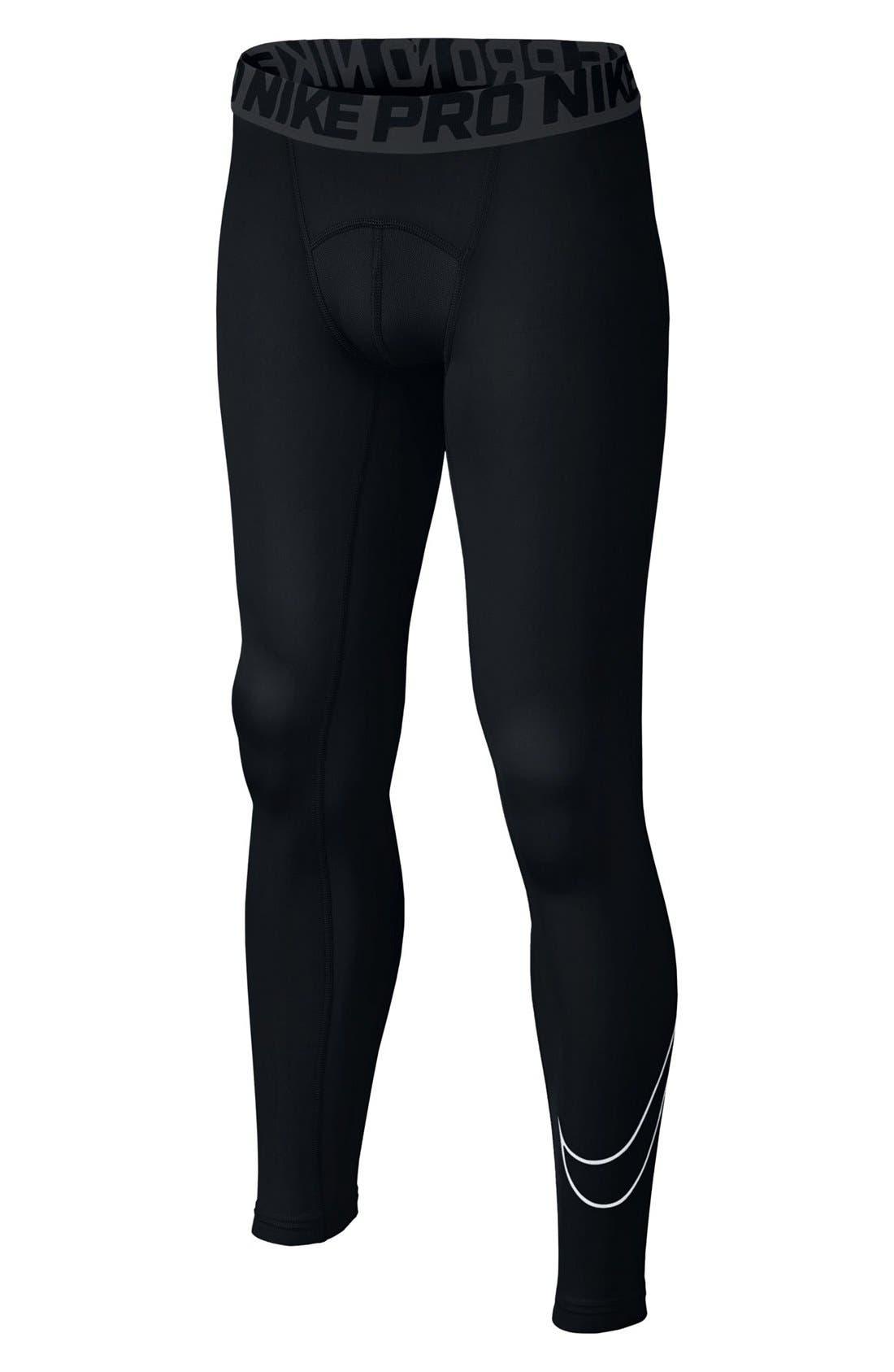 Main Image - Nike Dri-FIT Compression Tights (Little Boys & Big Boys)
