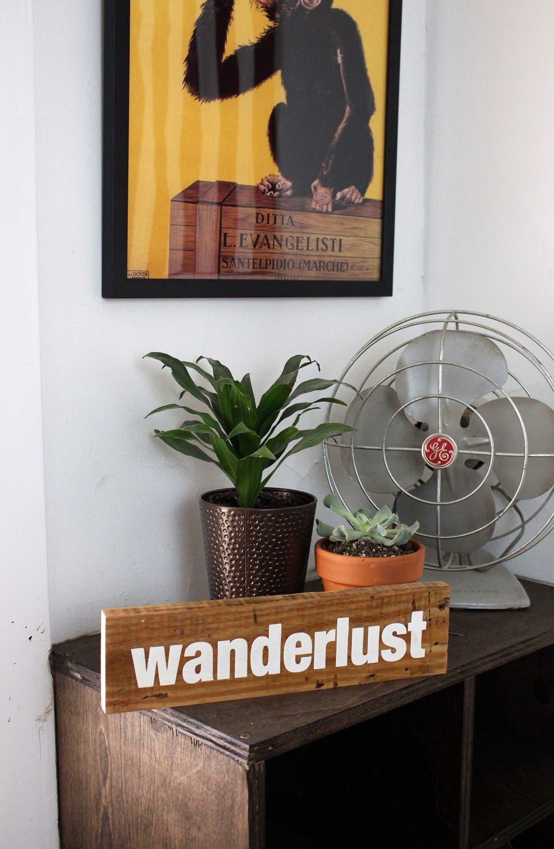 Alternate Image 3  - Woodward Throwbacks 'Wanderlust' Sign