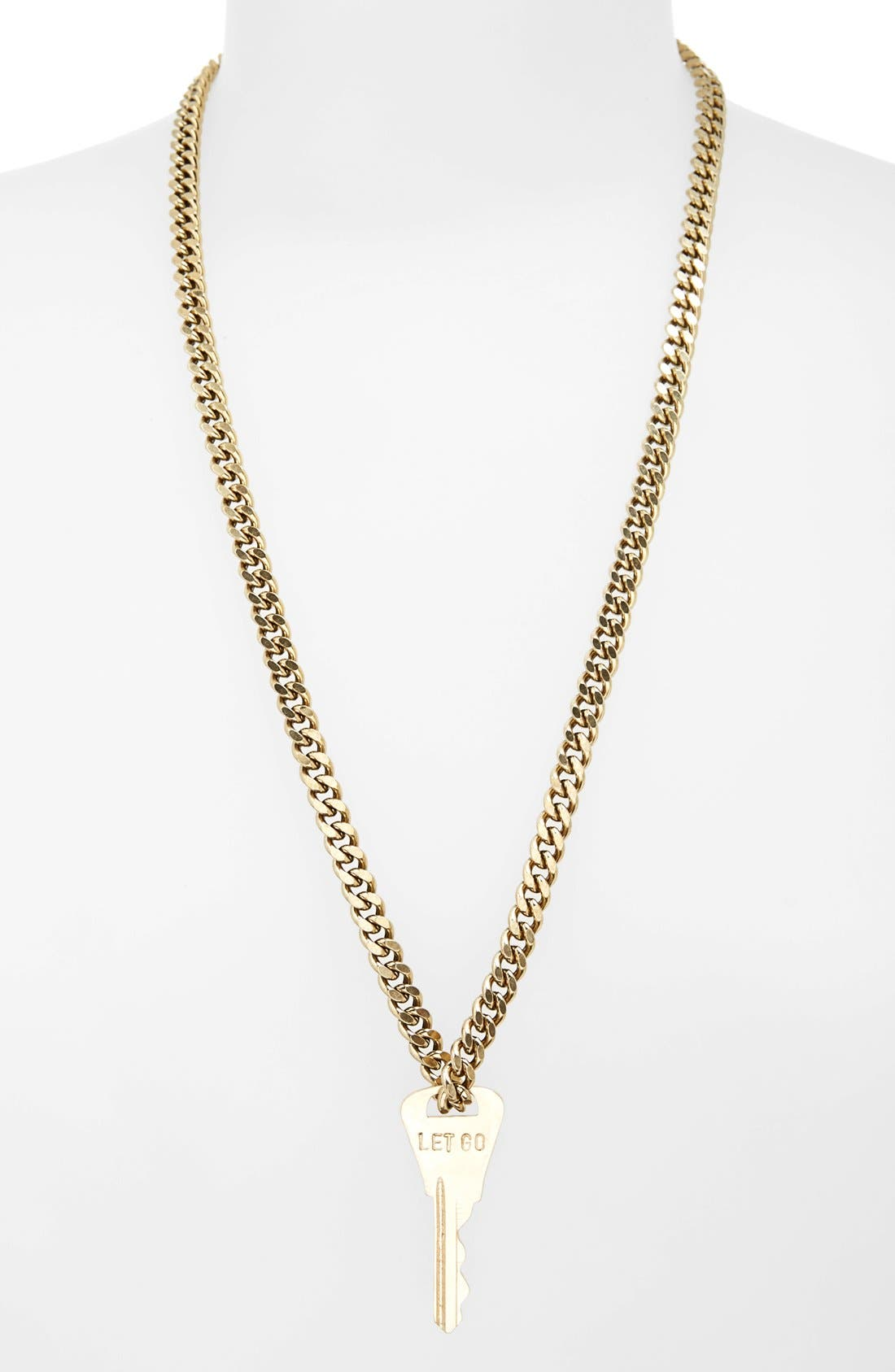 Alternate Image 2  - The Giving Keys 'Rebel XL' Key Pendant Necklace