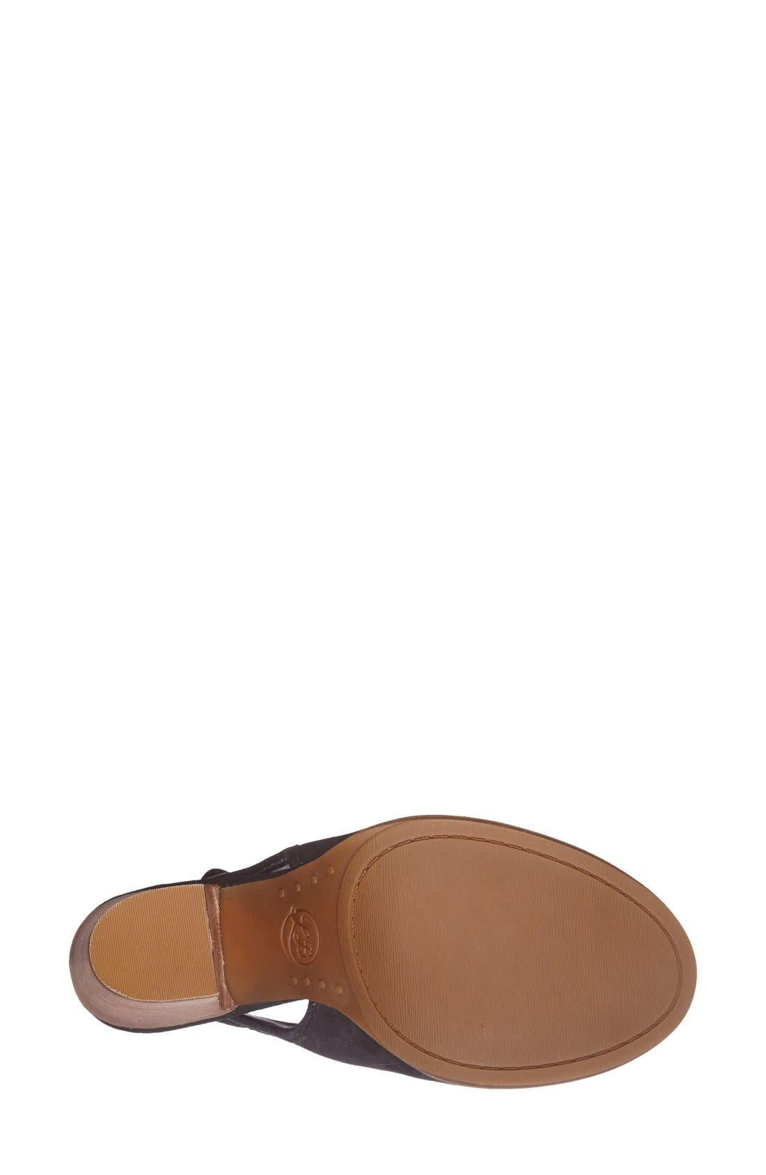 Alternate Image 4  - Lucky Brand 'Lisza' Open Toe Bootie (Women)