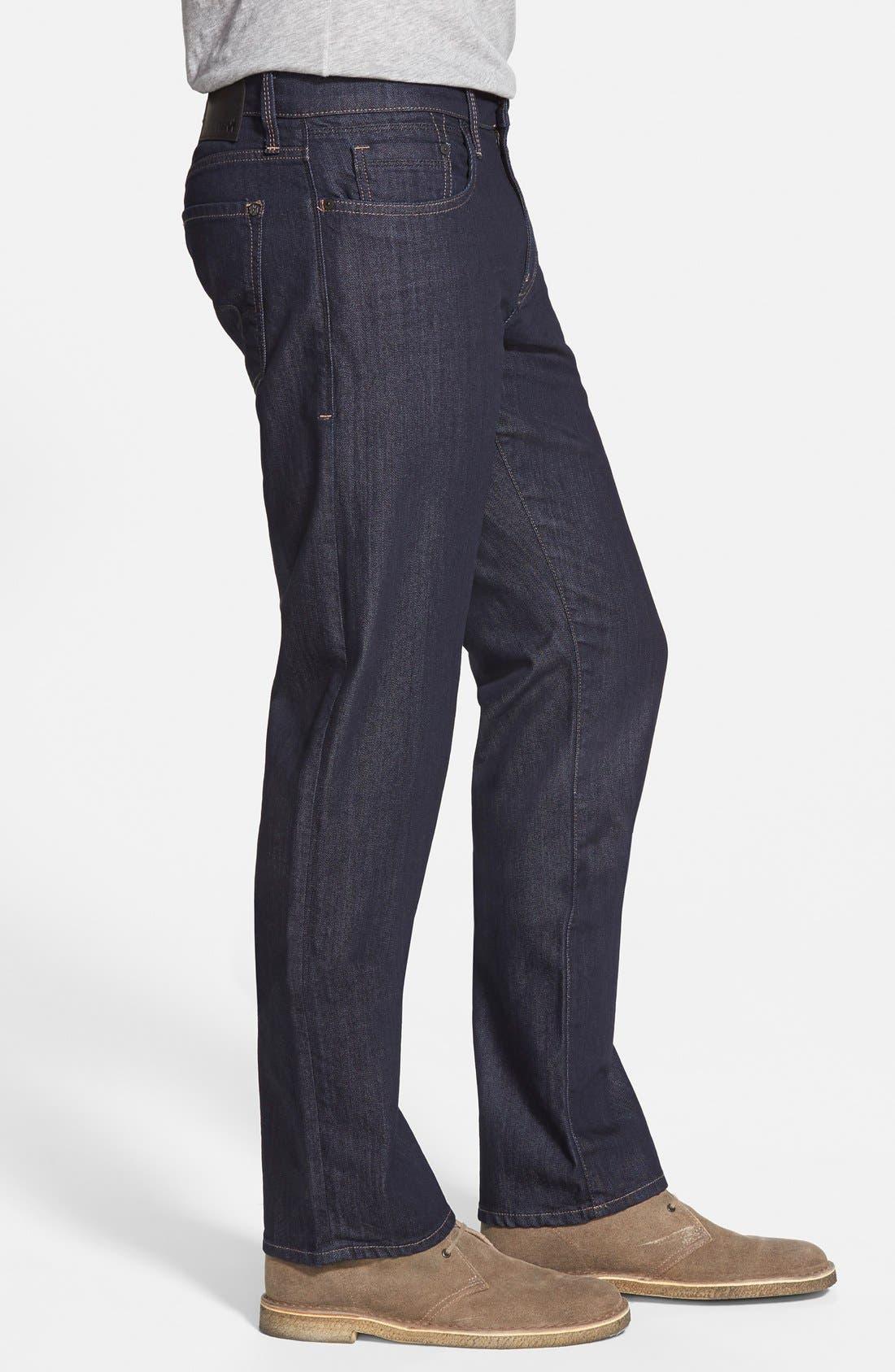 Alternate Image 3  - Mavi Jeans Zach Straight Leg Jeans (Rinse Williamsburg) (Regular & Tall)