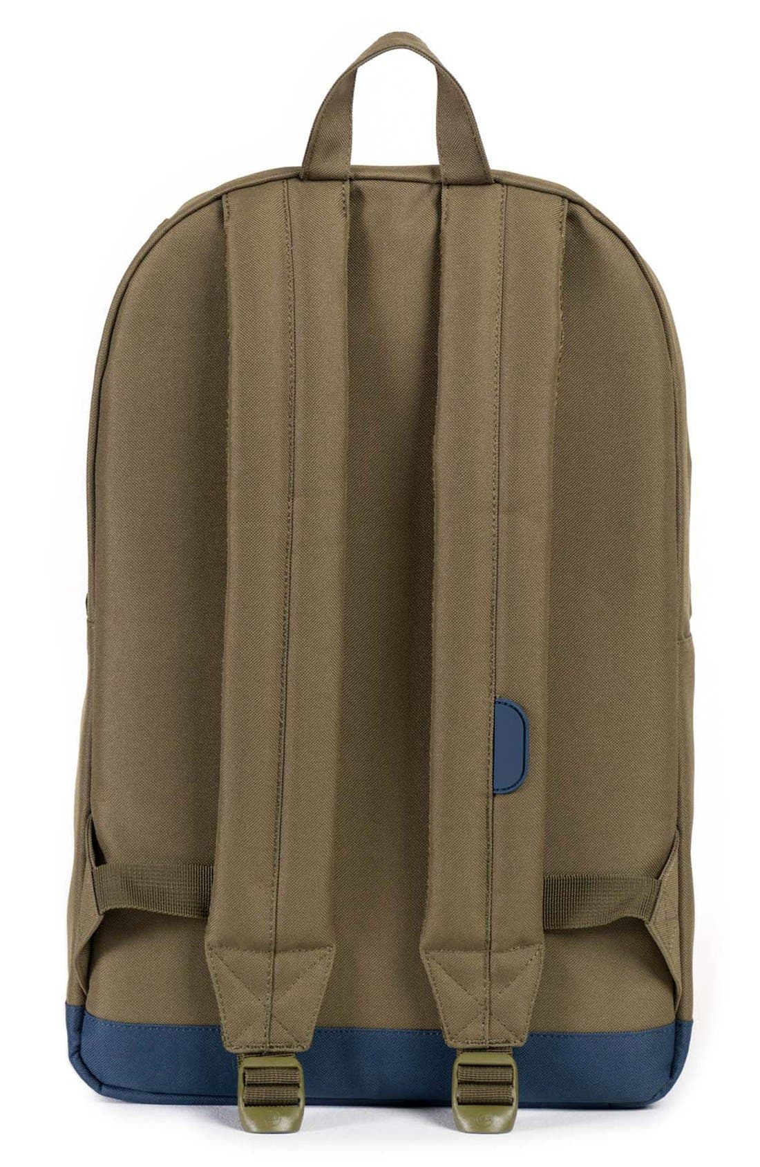 'Pop Quiz' Backpack,                             Alternate thumbnail 2, color,                             Army/ Navy