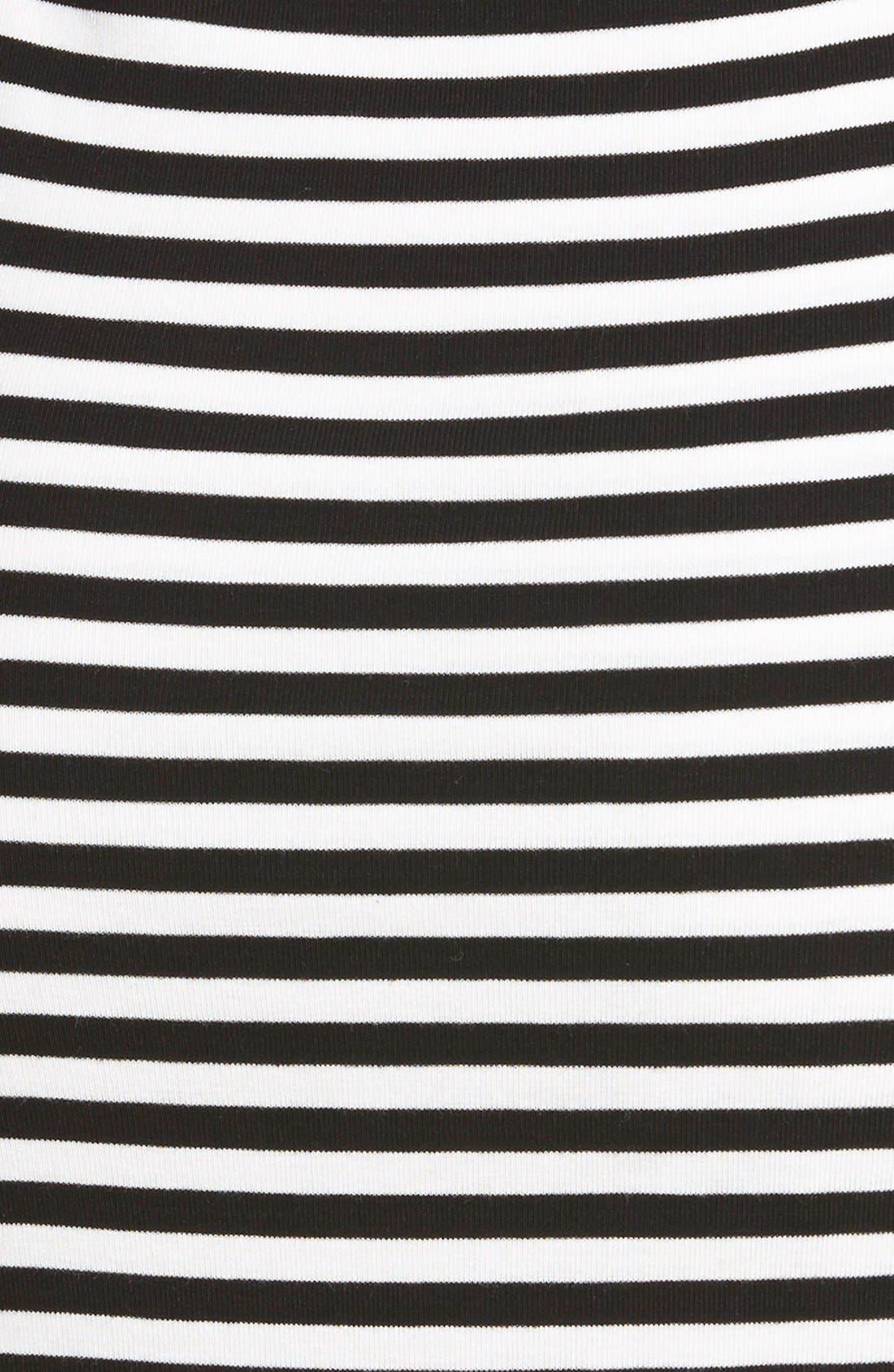 Alternate Image 3  - Lovers + Friends 'Sweet' Stripe Body-Con Dress