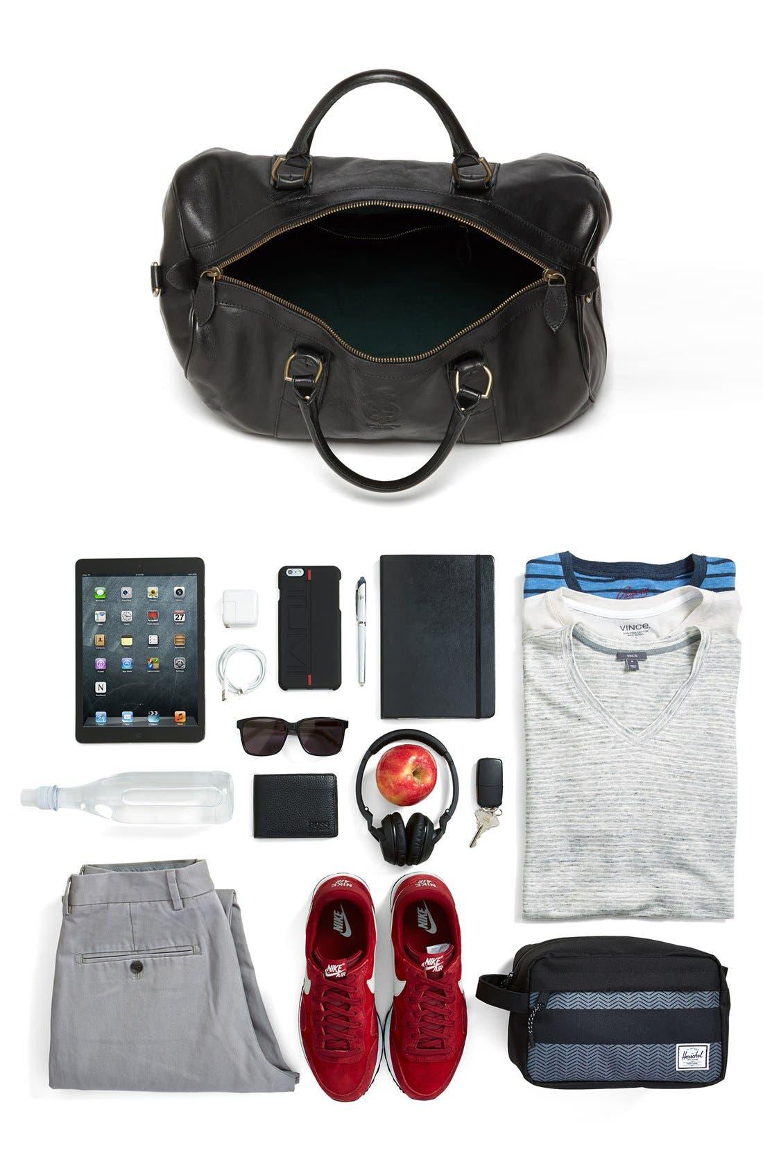 Alternate Image 5  - Polo Ralph Lauren Leather Gym Bag