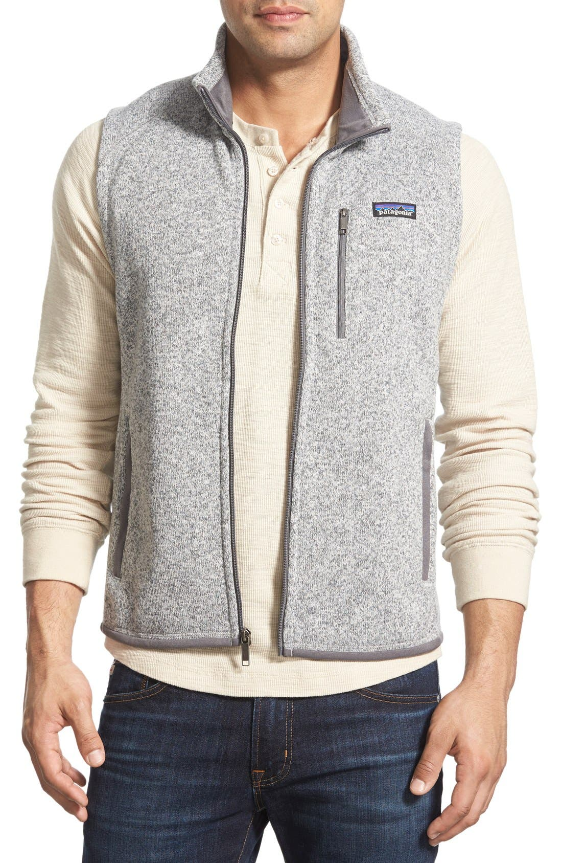 Main Image - Patagonia 'Better Sweater' Zip Front Vest