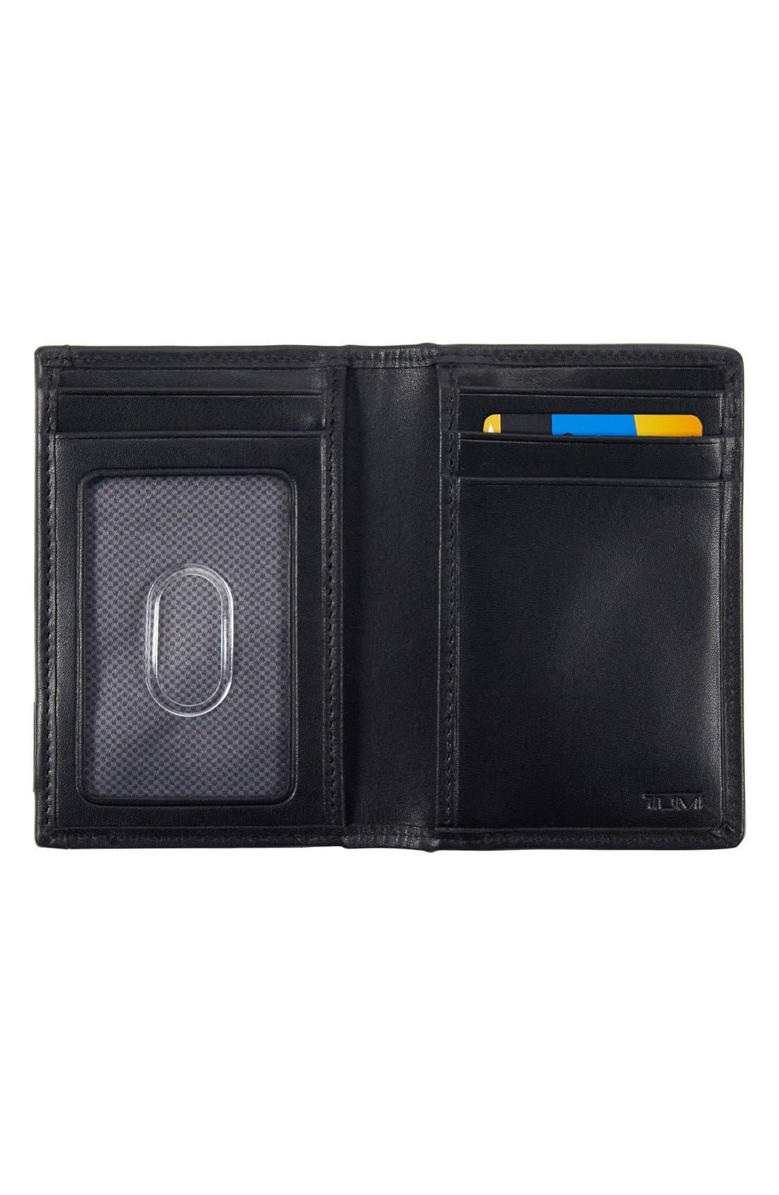 Alpha - ID Lock<sup>™</sup> Shielded Multi Window Card Case,                             Alternate thumbnail 2, color,                             Black