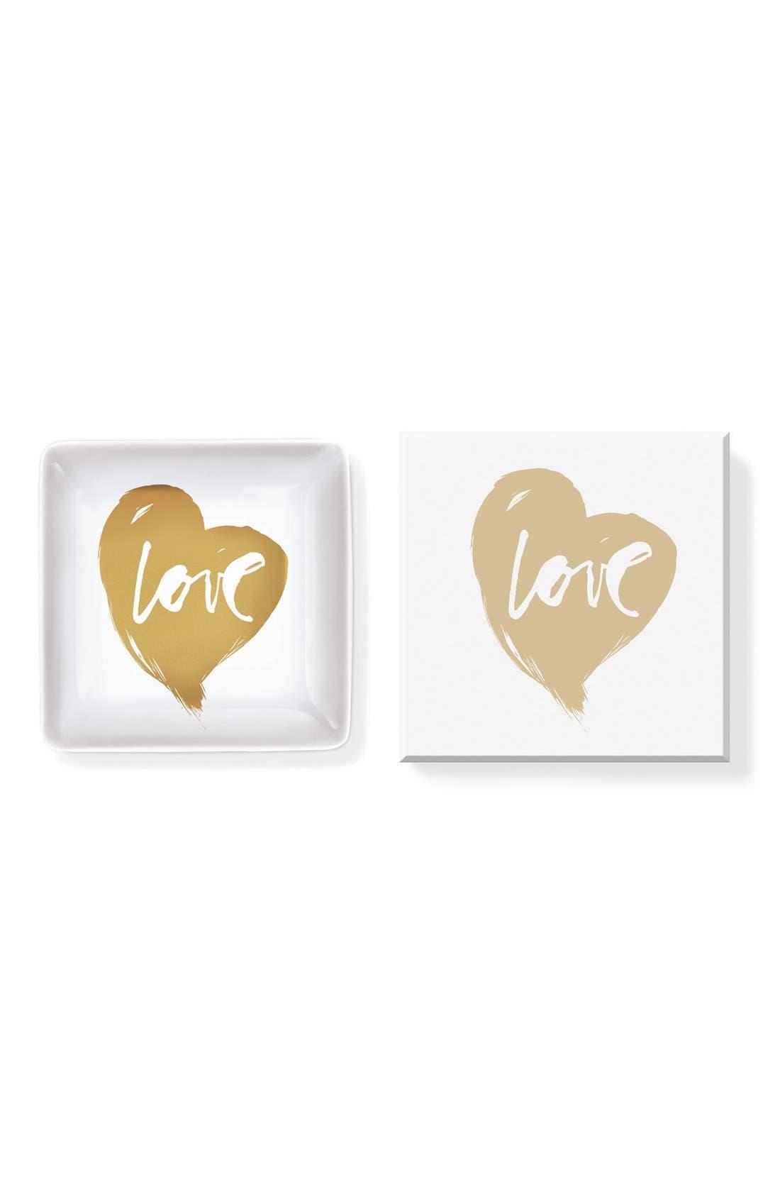 Alternate Image 2  - Fringe Studio 'Love' Ceramic Trinket Tray