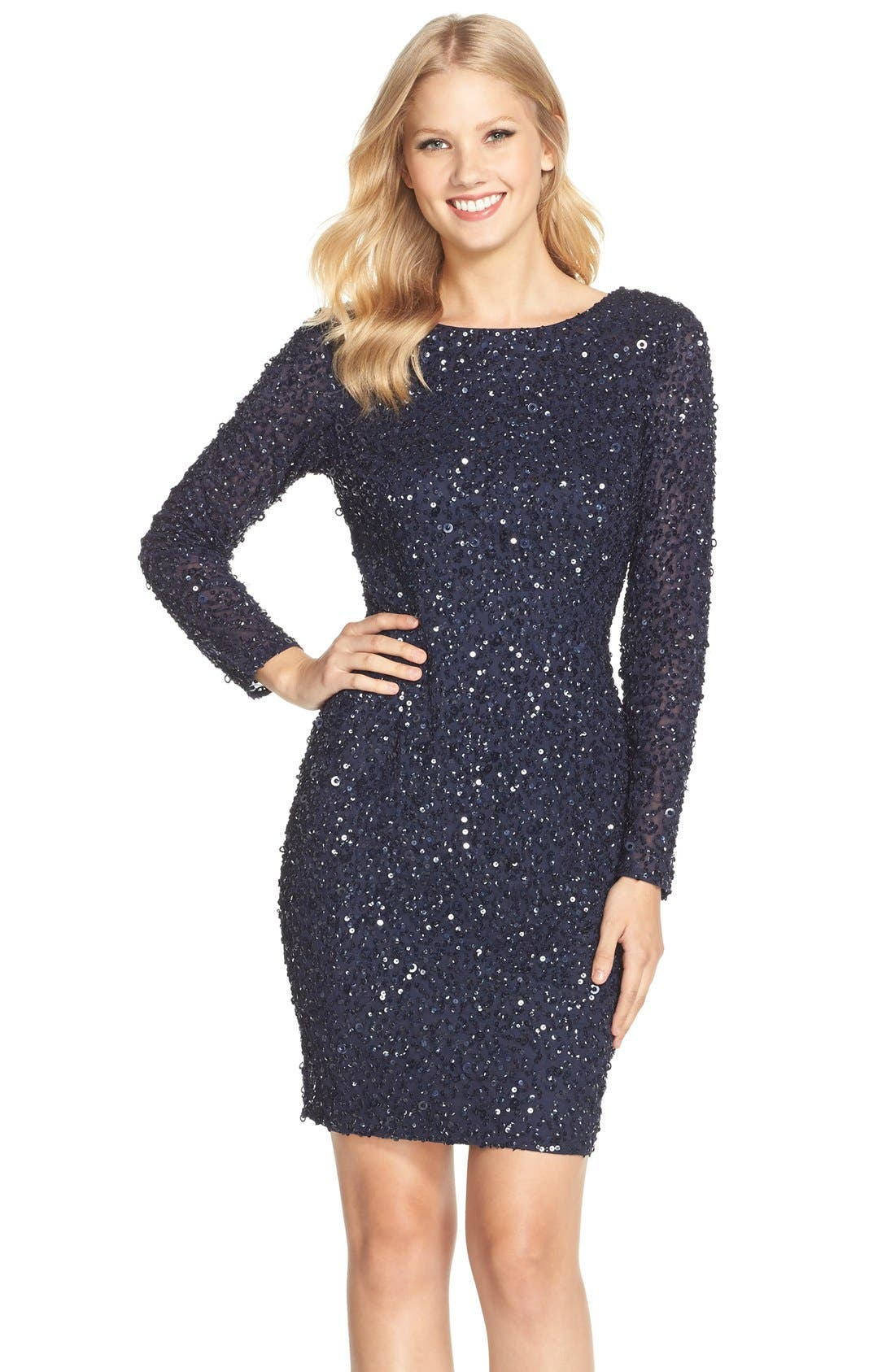 Lujo Petite Black Cocktail Dress Ornamento - Vestido de Novia Para ...