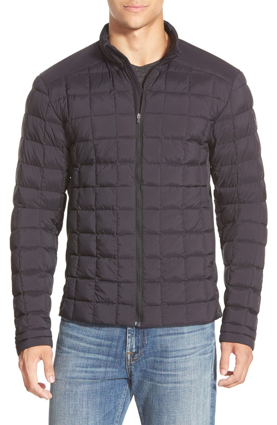 ARCTERYX Rico Athletic Fit Quilted Water Resistant Shirt Jacket