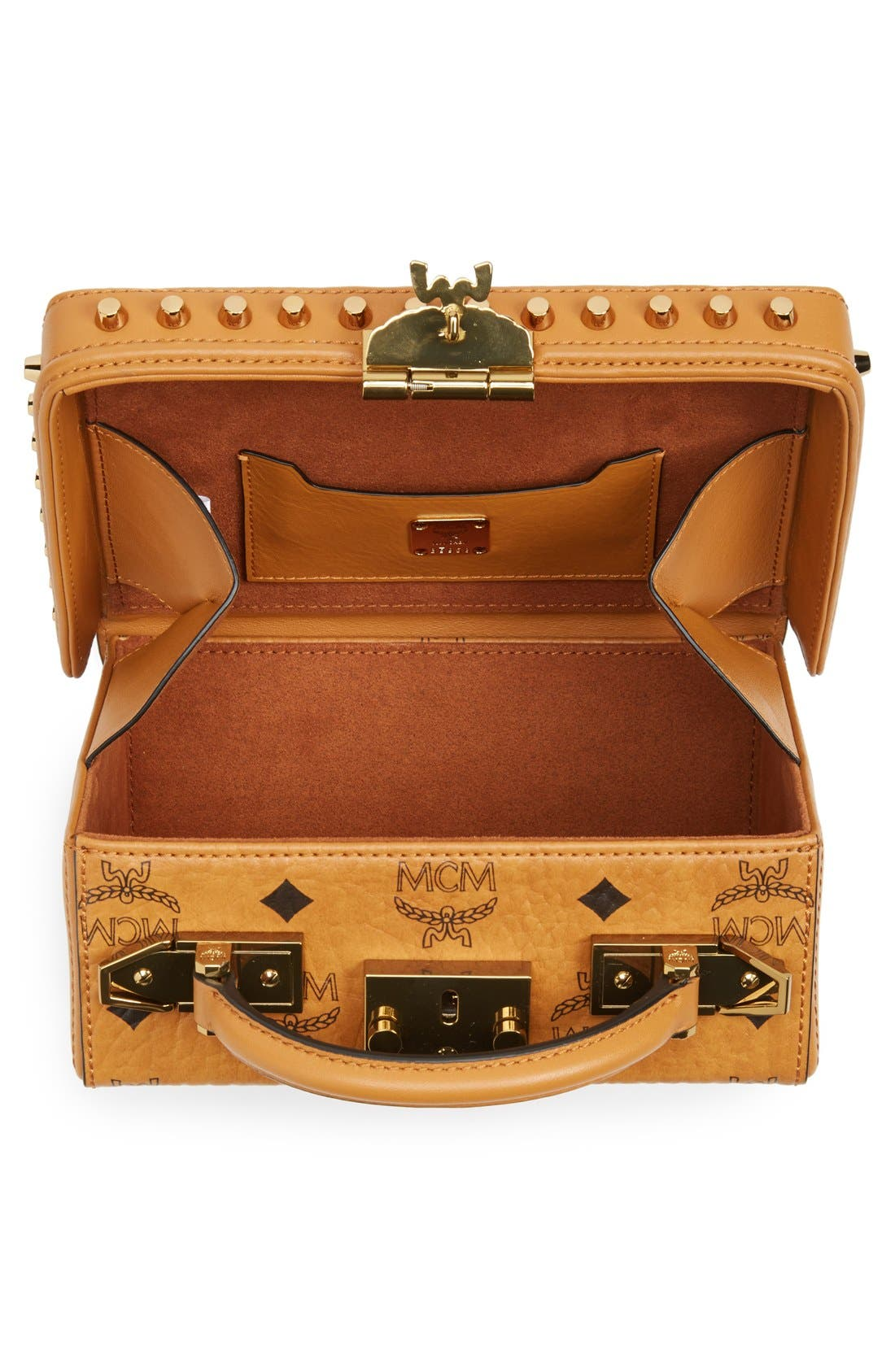 Alternate Image 4  - MCM 'Visetos - Berlin Series' Box Crossbody Bag