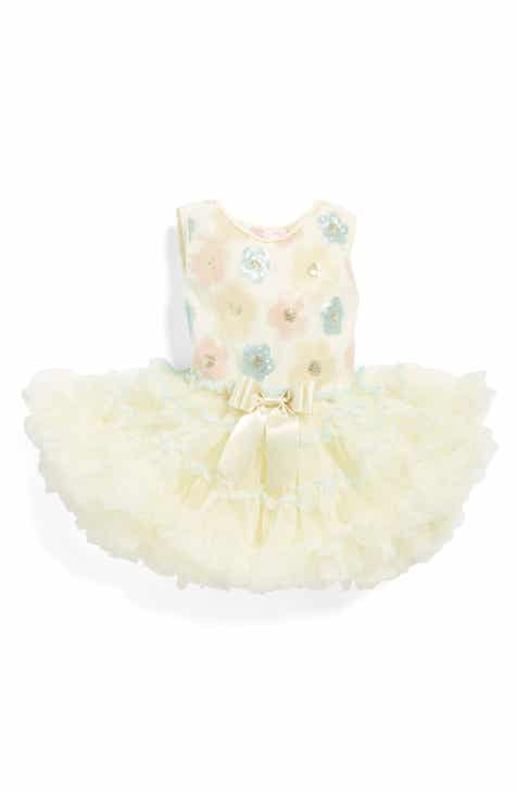 Popatu Sequin Flower Pettidress (Baby Girls) 5916c9daf39