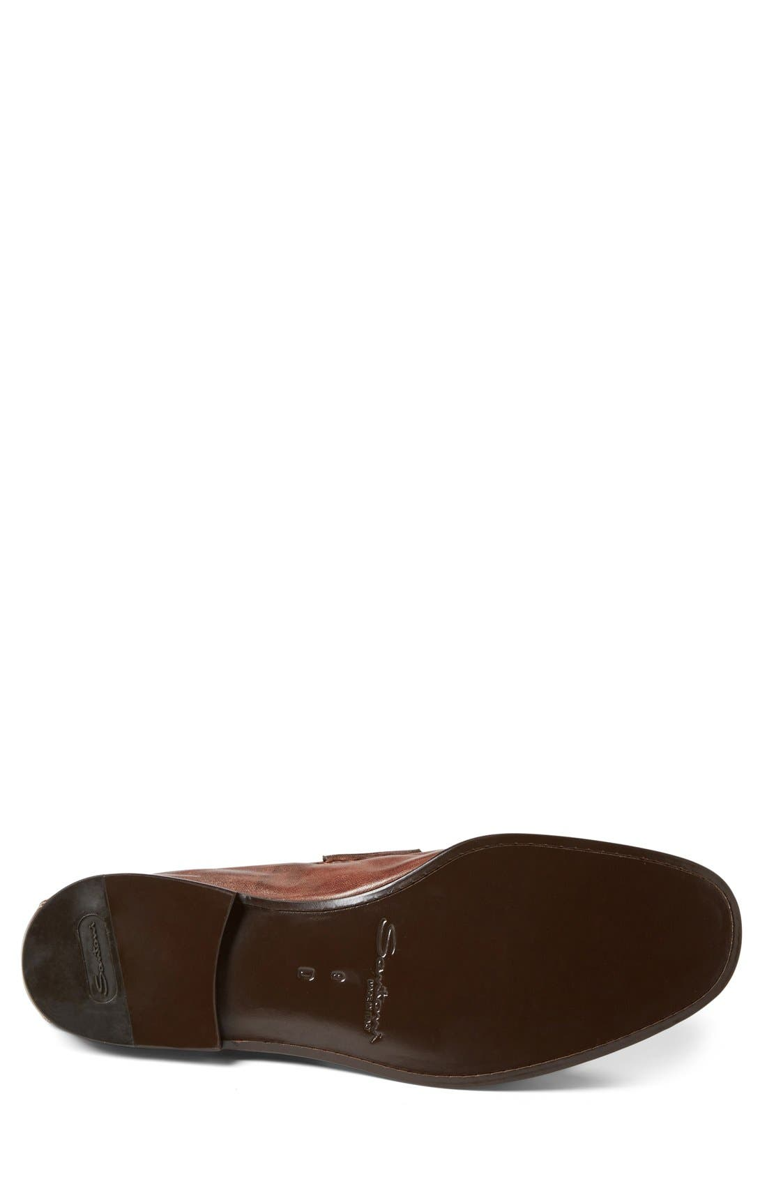 Alternate Image 4  - Santoni 'Wake' Bit Loafer (Men)