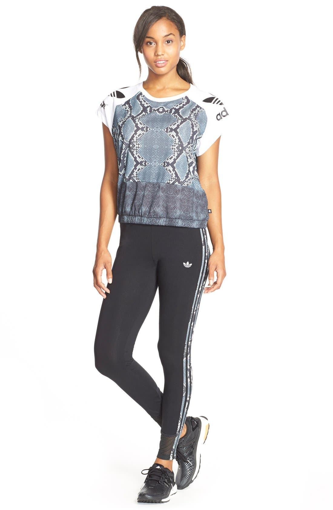 Alternate Image 3  - adidas Originals 'LA' Trefoil Leggings