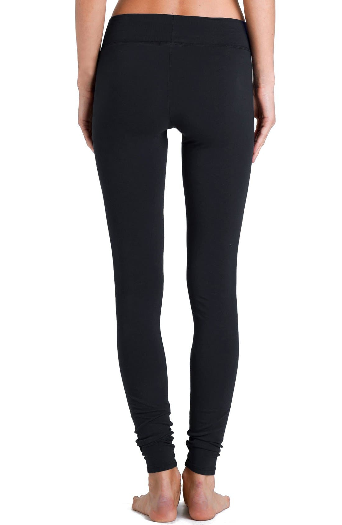 Alternate Image 3  - LAmade Flat Waistband Leggings