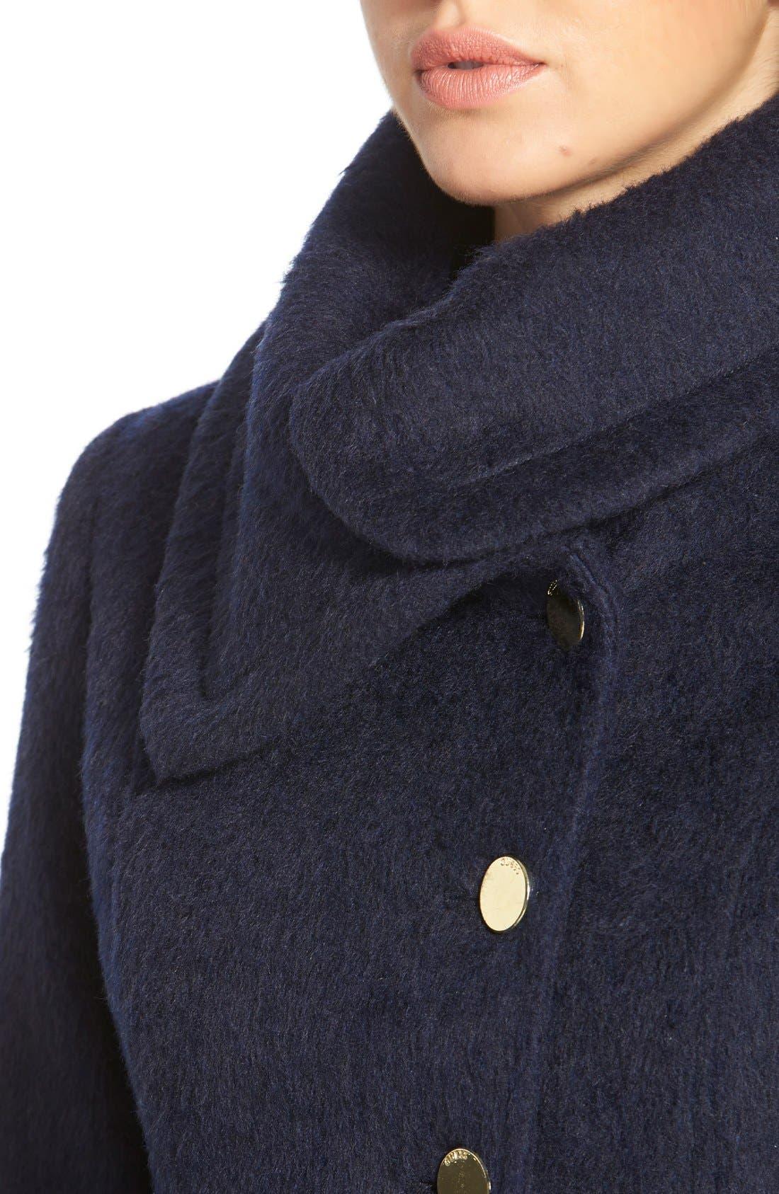 Alternate Image 5  - GUESS Asymmetrical Cutaway Coat