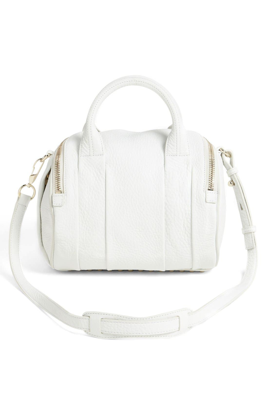 Alternate Image 3  - Alexander Wang 'Rockie - Pale Gold' Leather Crossbody Satchel